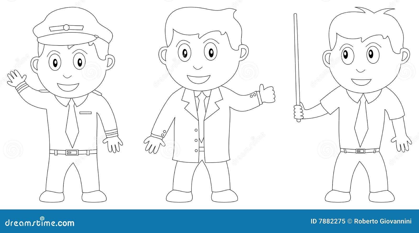 Libro De Colorante Para Los Cabritos [13] Ilustración del Vector ...