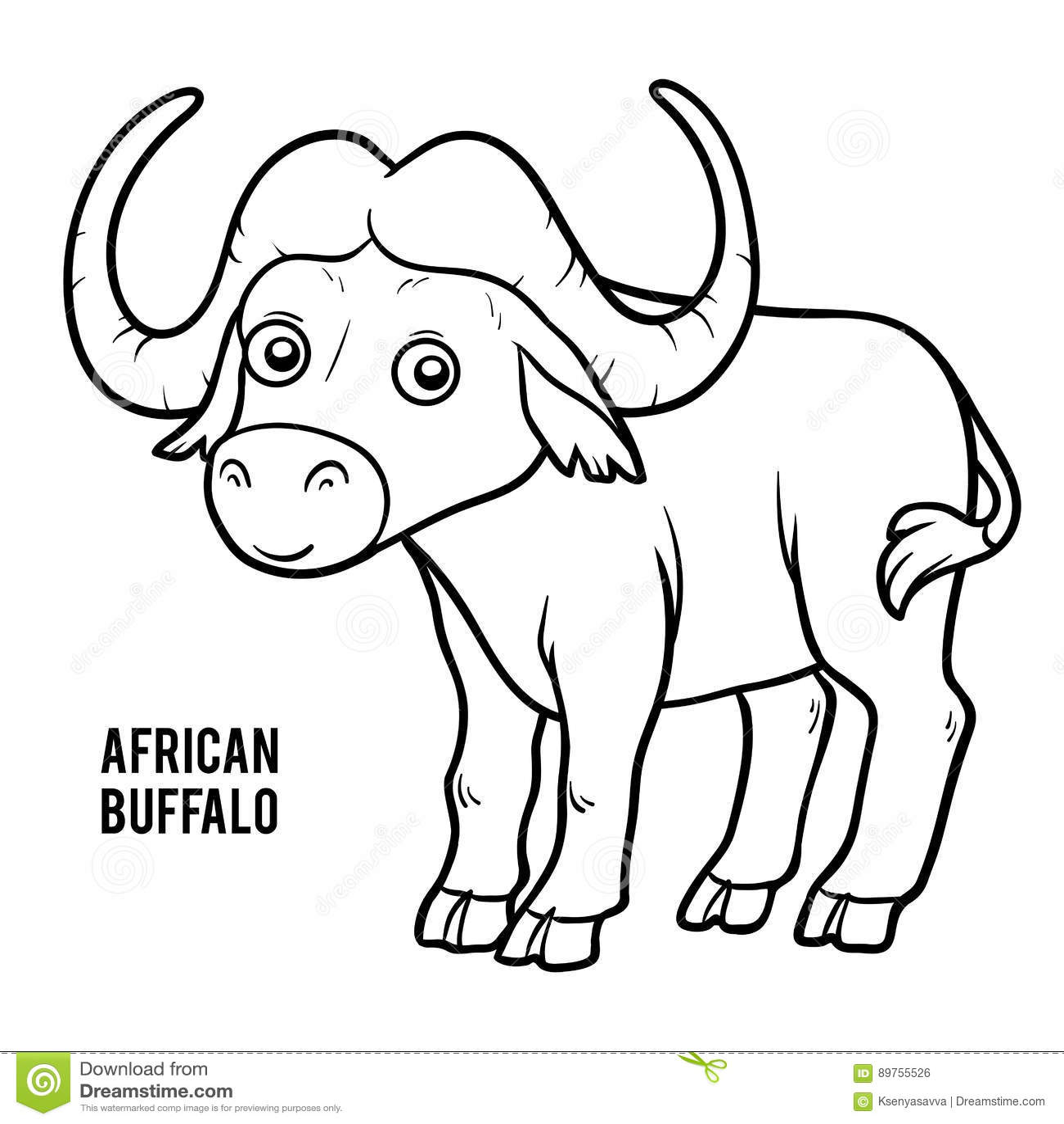 Excepcional Logotipo De Búfalos Para Colorear Imagen - Enmarcado ...