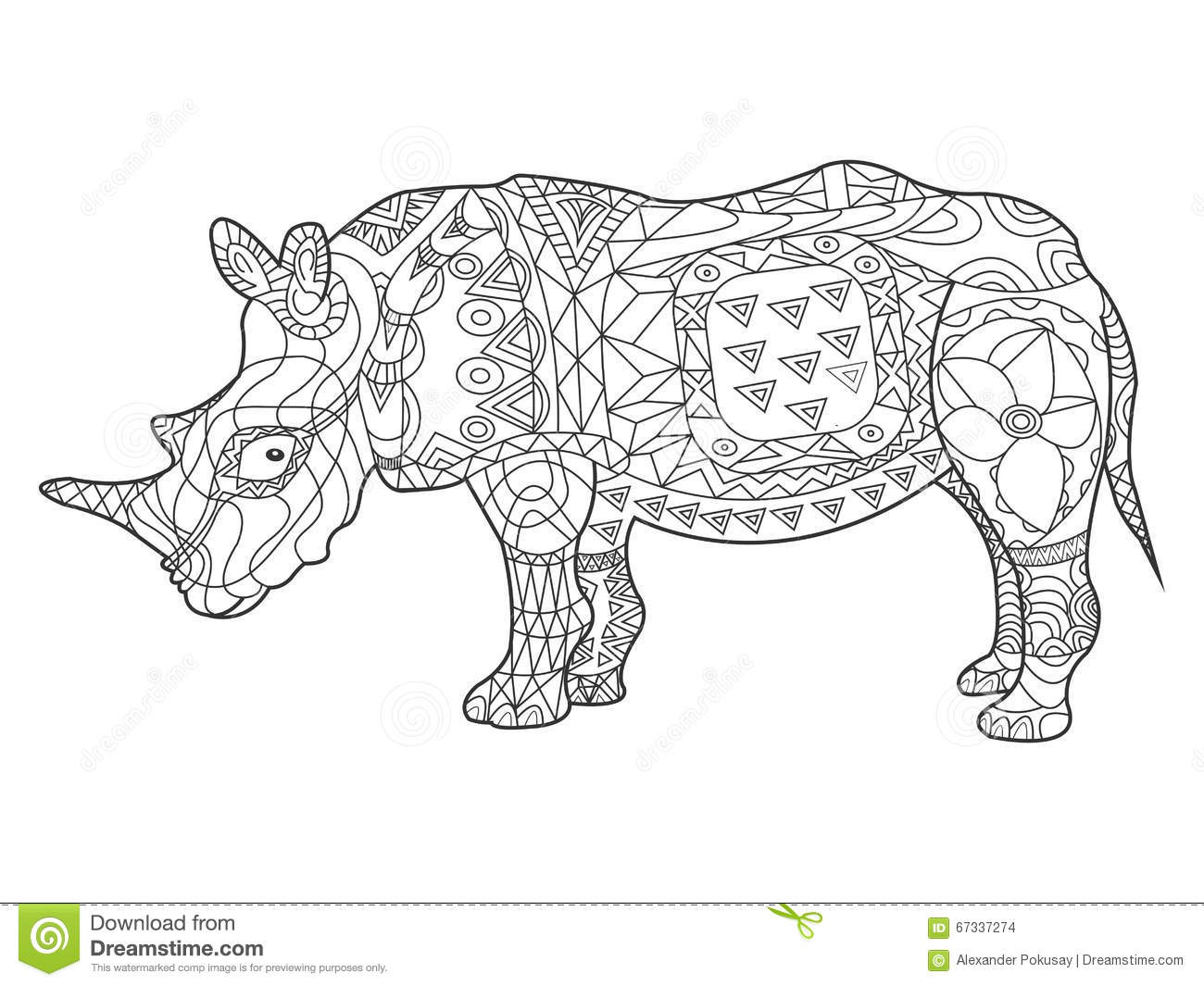 El Zentangle Del Terrier De Pitbull Estilizó, Vector, Ejemplo, Freeh ...