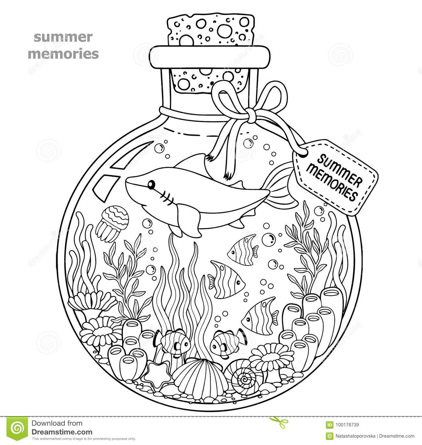 Famoso Criatura De Mar Libre Para Colorear Colección - Dibujos de ...