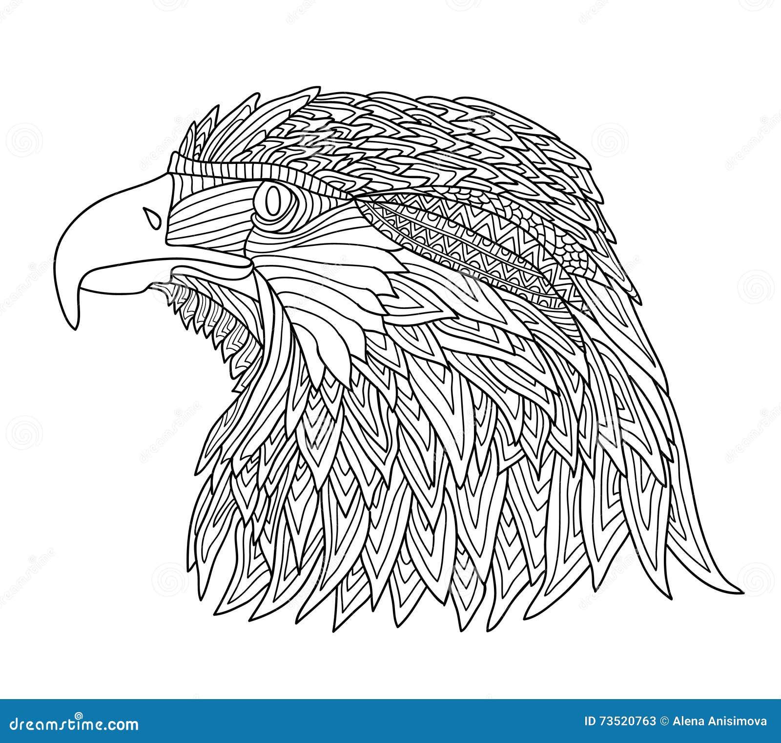 Magnífico Colorear águila De La Bandera Mexicana Modelo - Enmarcado ...