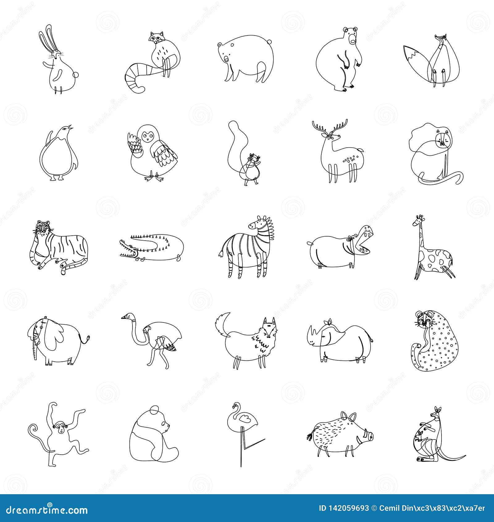 Libro de colorear para los niños que colorean el esquema de la página del ejemplo lindo del vector de la historieta
