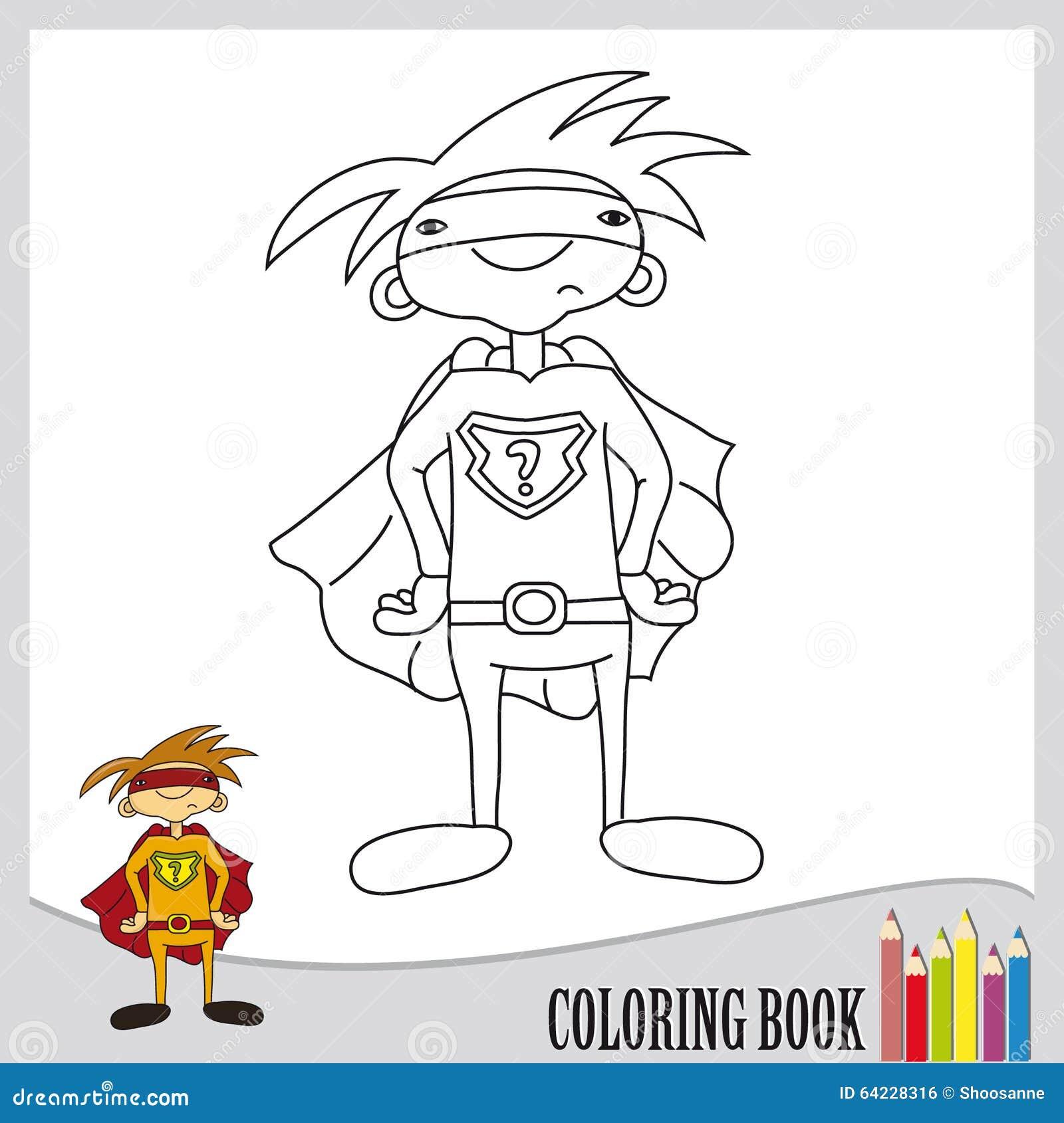 Hermosa Super Por Qué Colorear Página Composición - Enmarcado Para ...