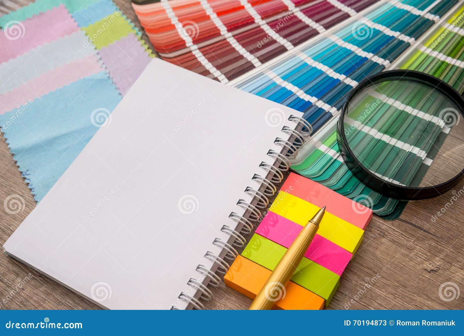 Magnífico Libro De Muestras De Color Inspiración - Enmarcado Para ...