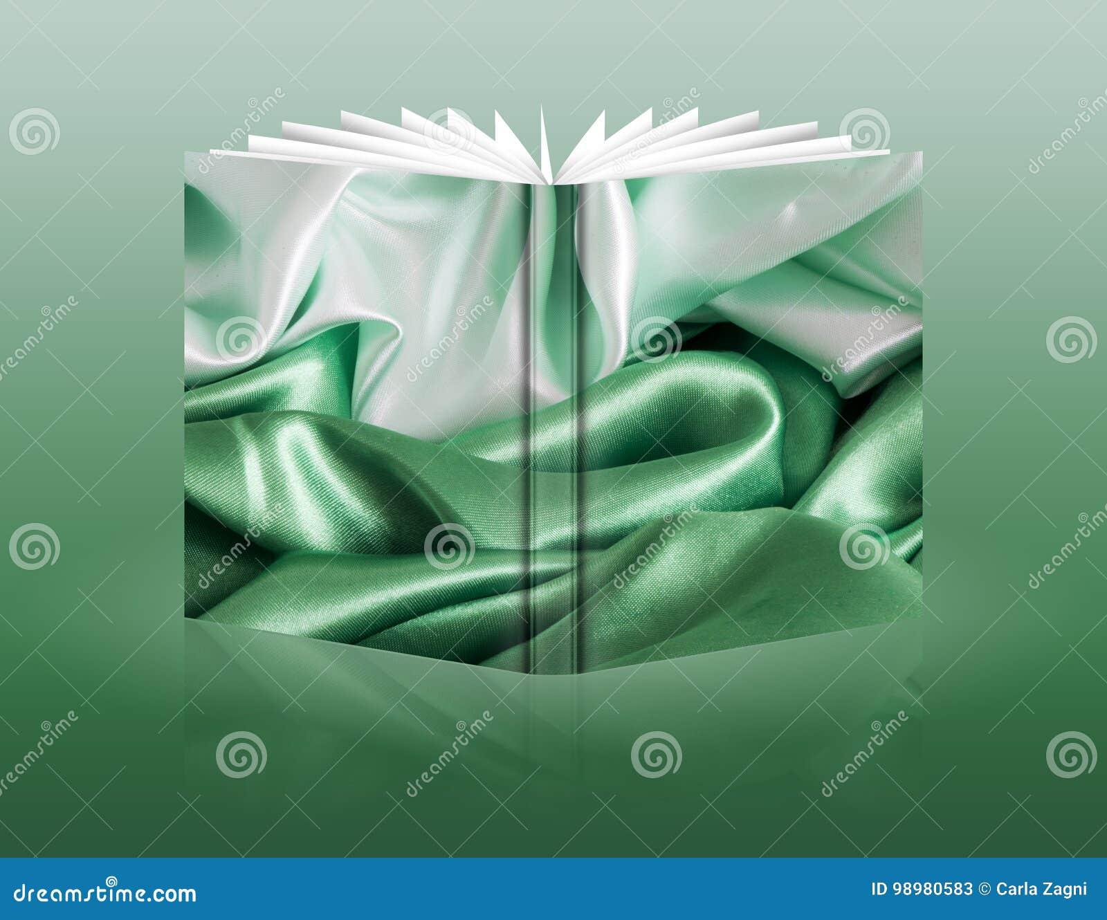 Libro de una tela del fondo