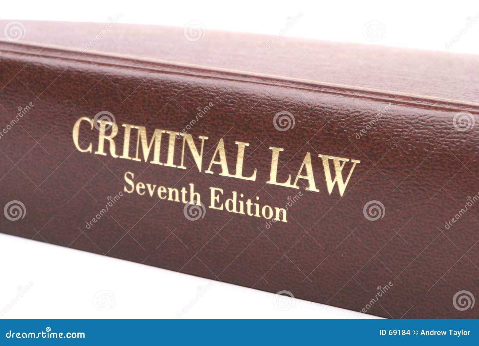 Libro del derecho penal