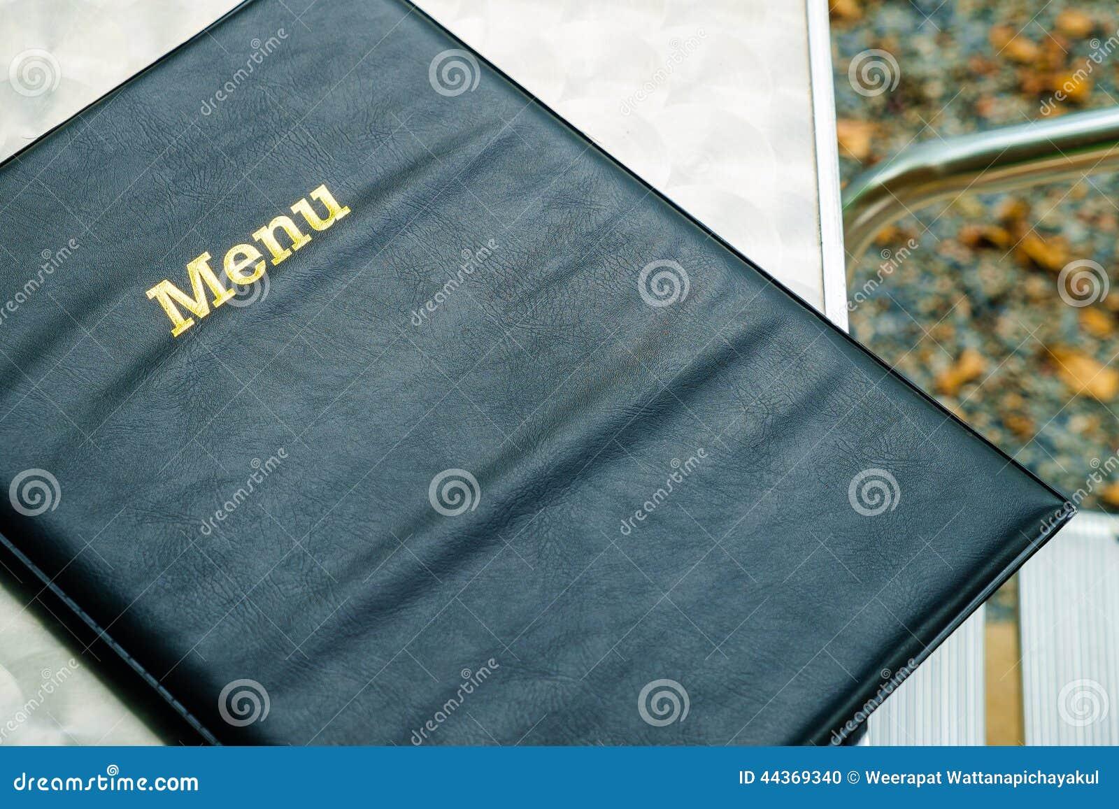 Libro del menu