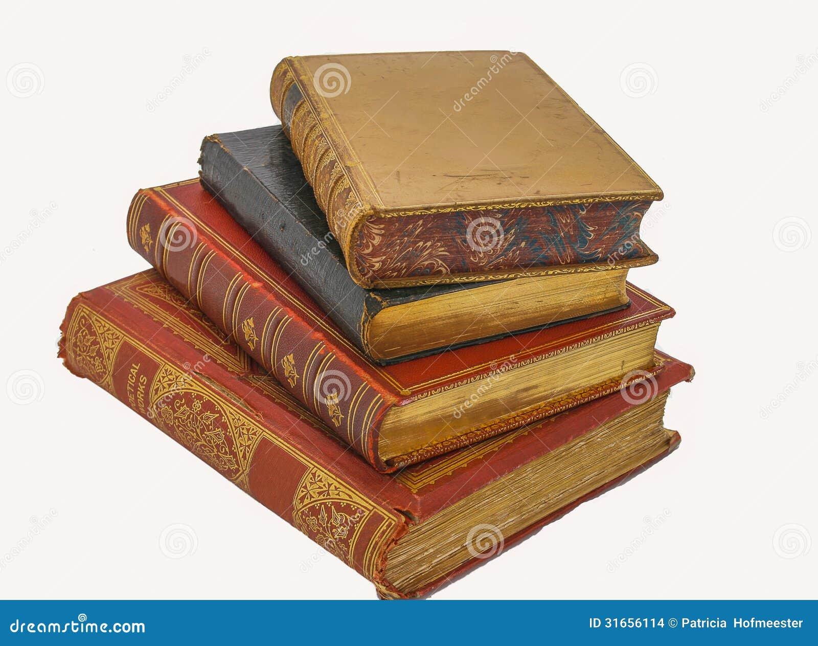Libros Antiguos Foto De Archivo. Imagen De Colección