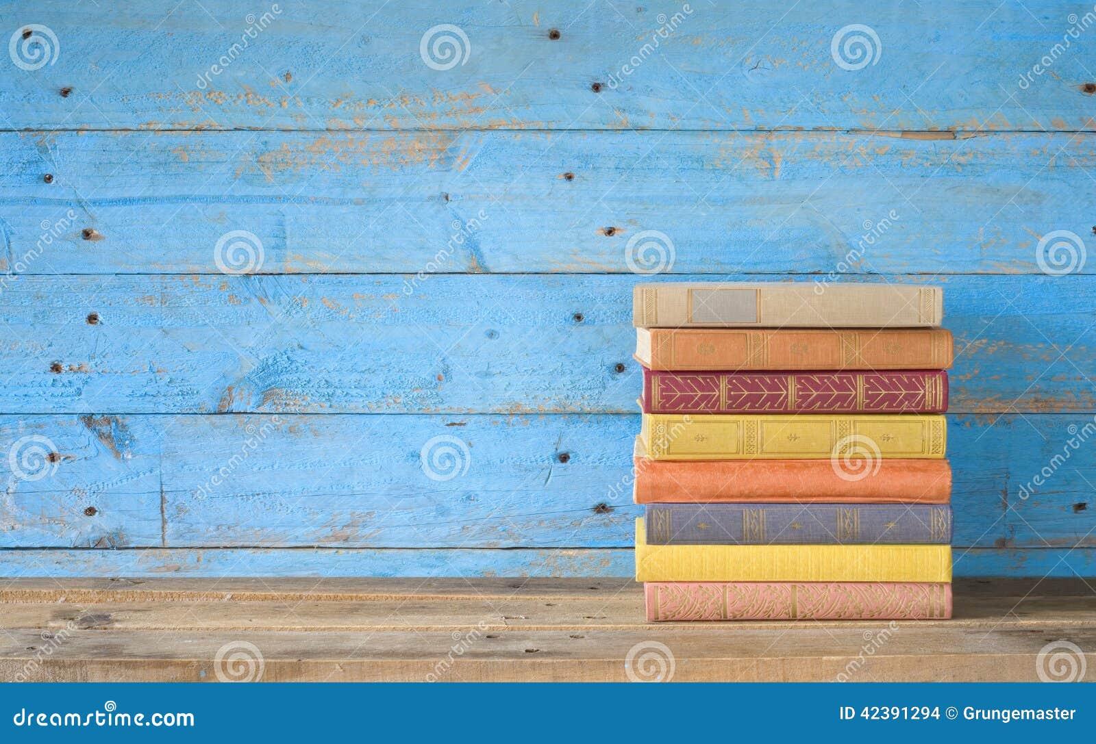 Libros coloridos