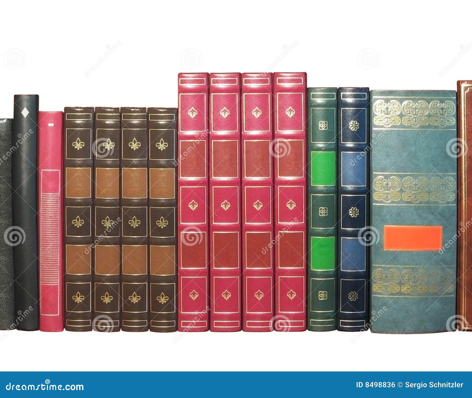 Libros viejos aislados