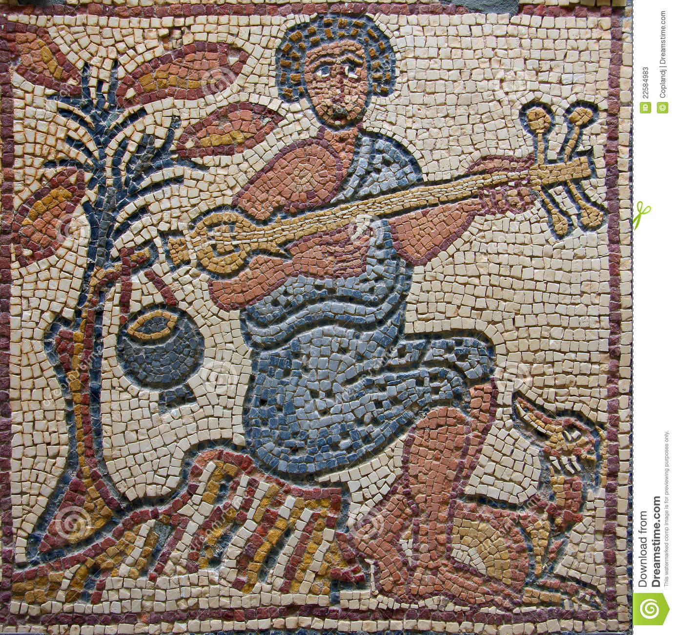 Libya cyrenaica byzantine mosaic musician stock image image 22584983 - The urban treehouse the wonder in the heart of berlin ...