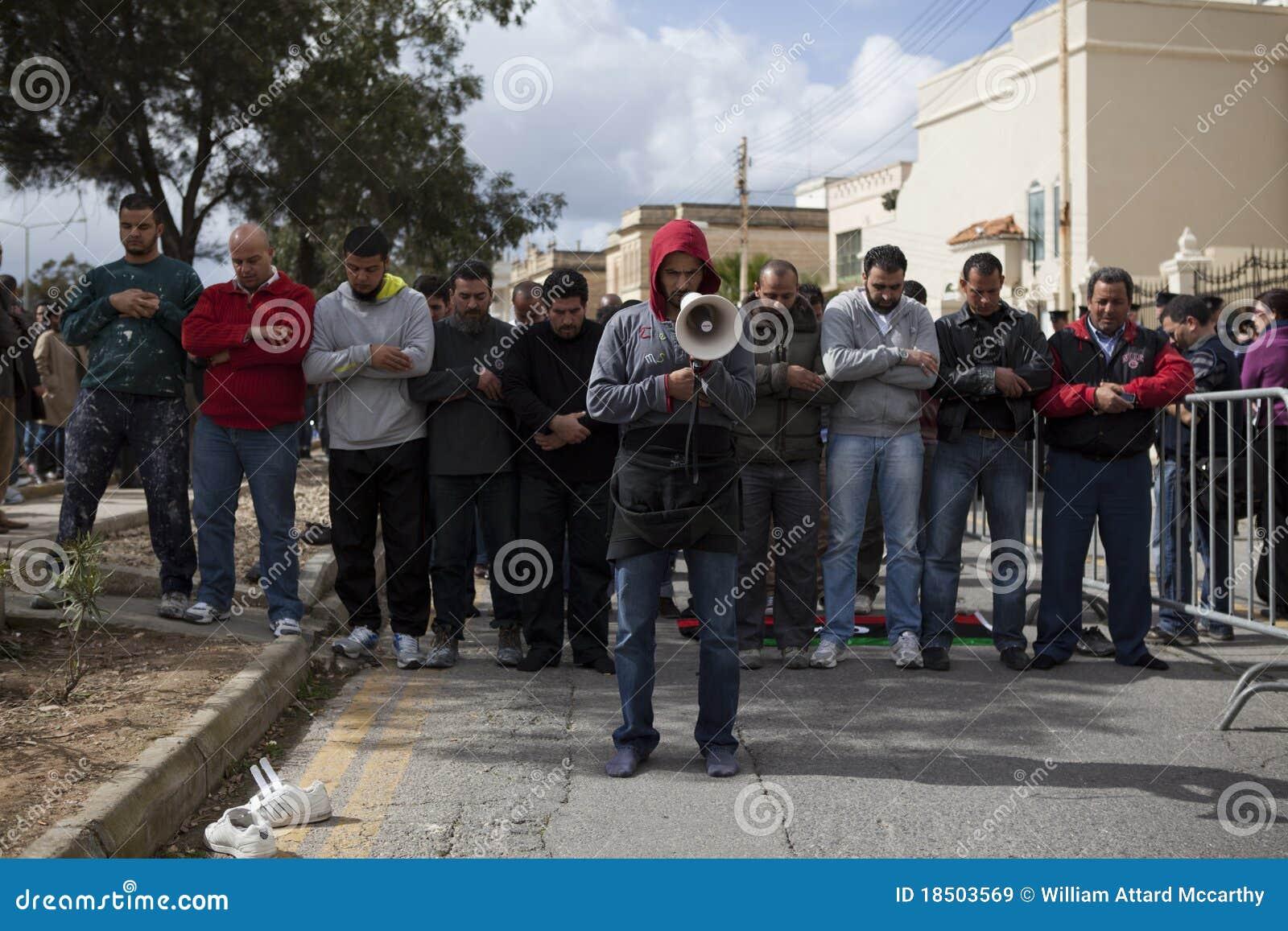 Libyscher Botschaft-Protest