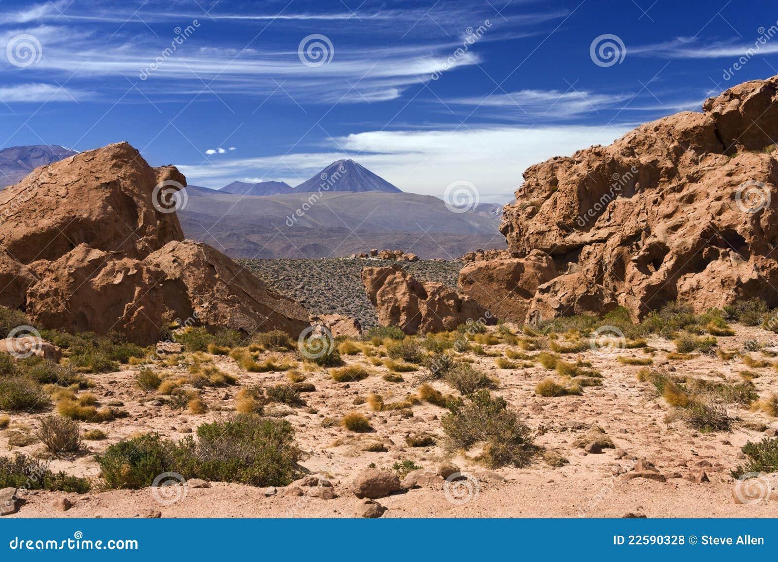 Licancabur Volcano - Atacama Desert - Chile