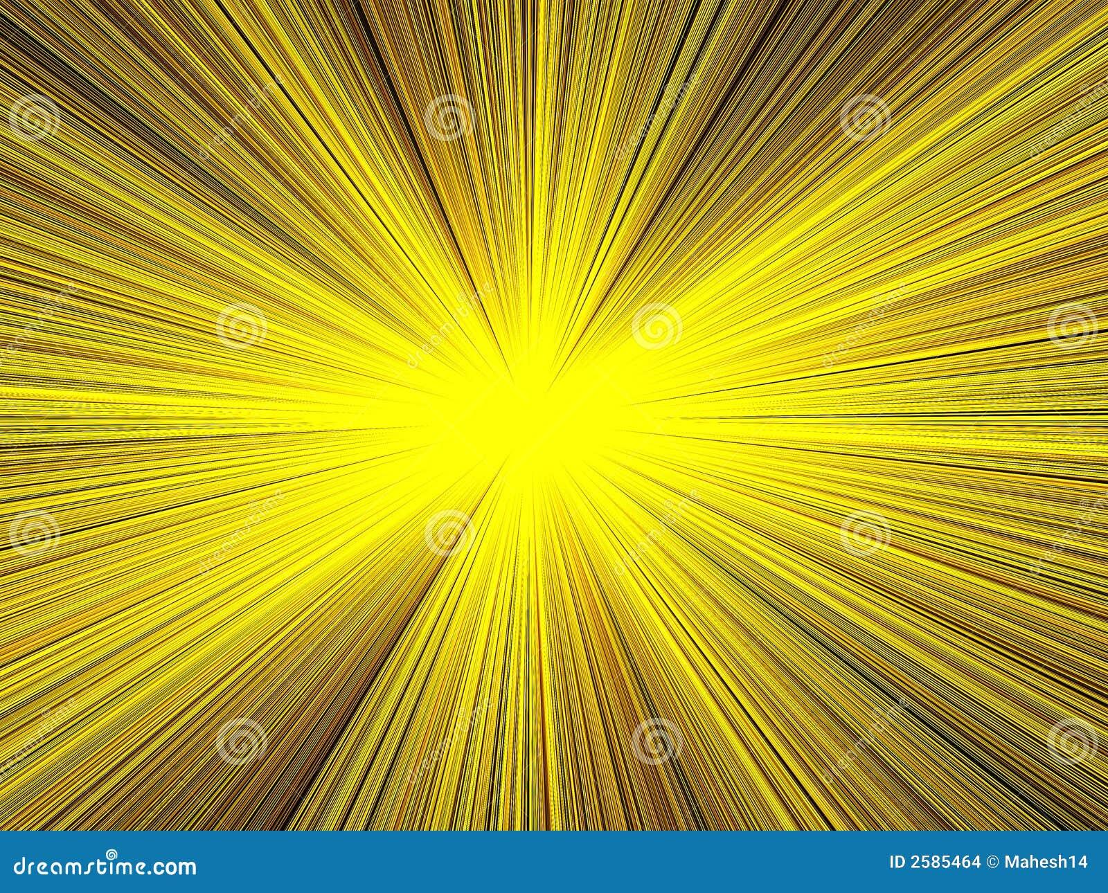 Licht & de Achtergrond van Stralen