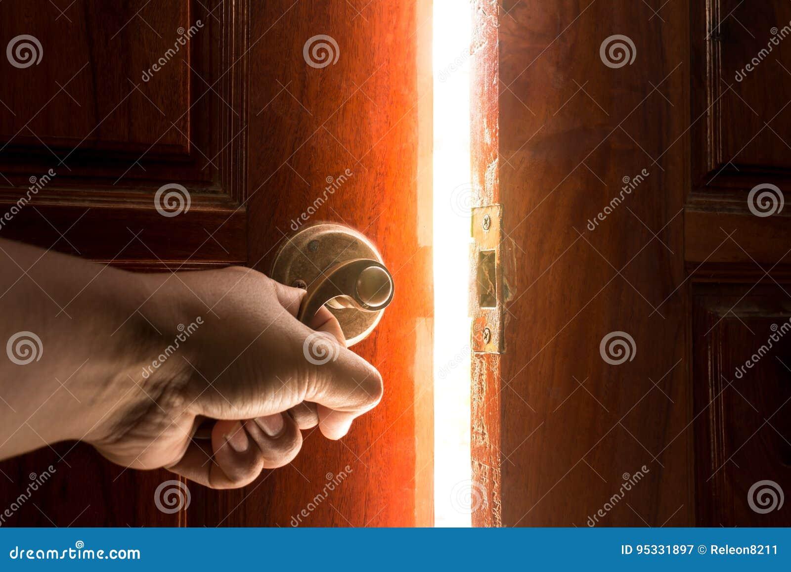 Licht der offenen Tür