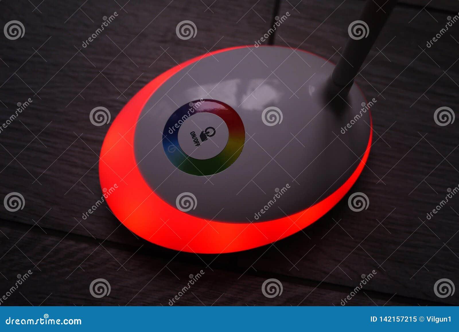 Licht met leiden en RGB licht Lichte omschakeling,