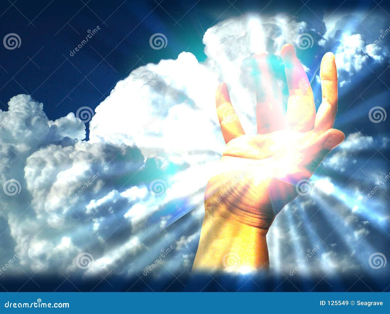 Licht in mijn hand