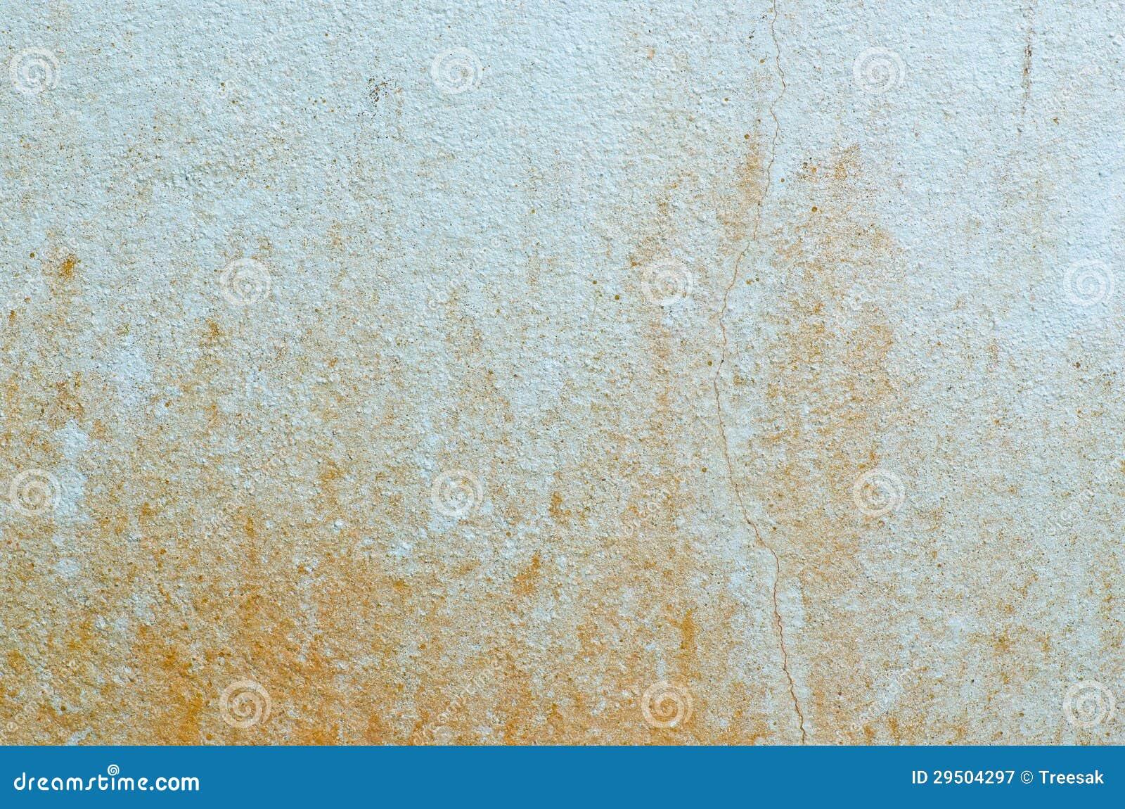 Lichtblauwe vuile muur