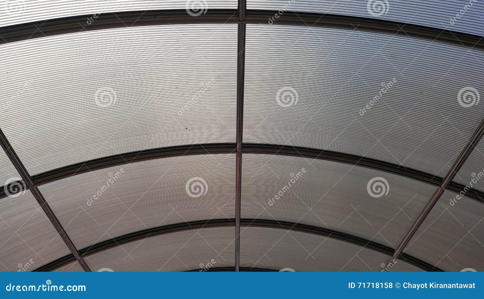 Lichtdurchlässiges Architekturüberdachungsdach Mit ...