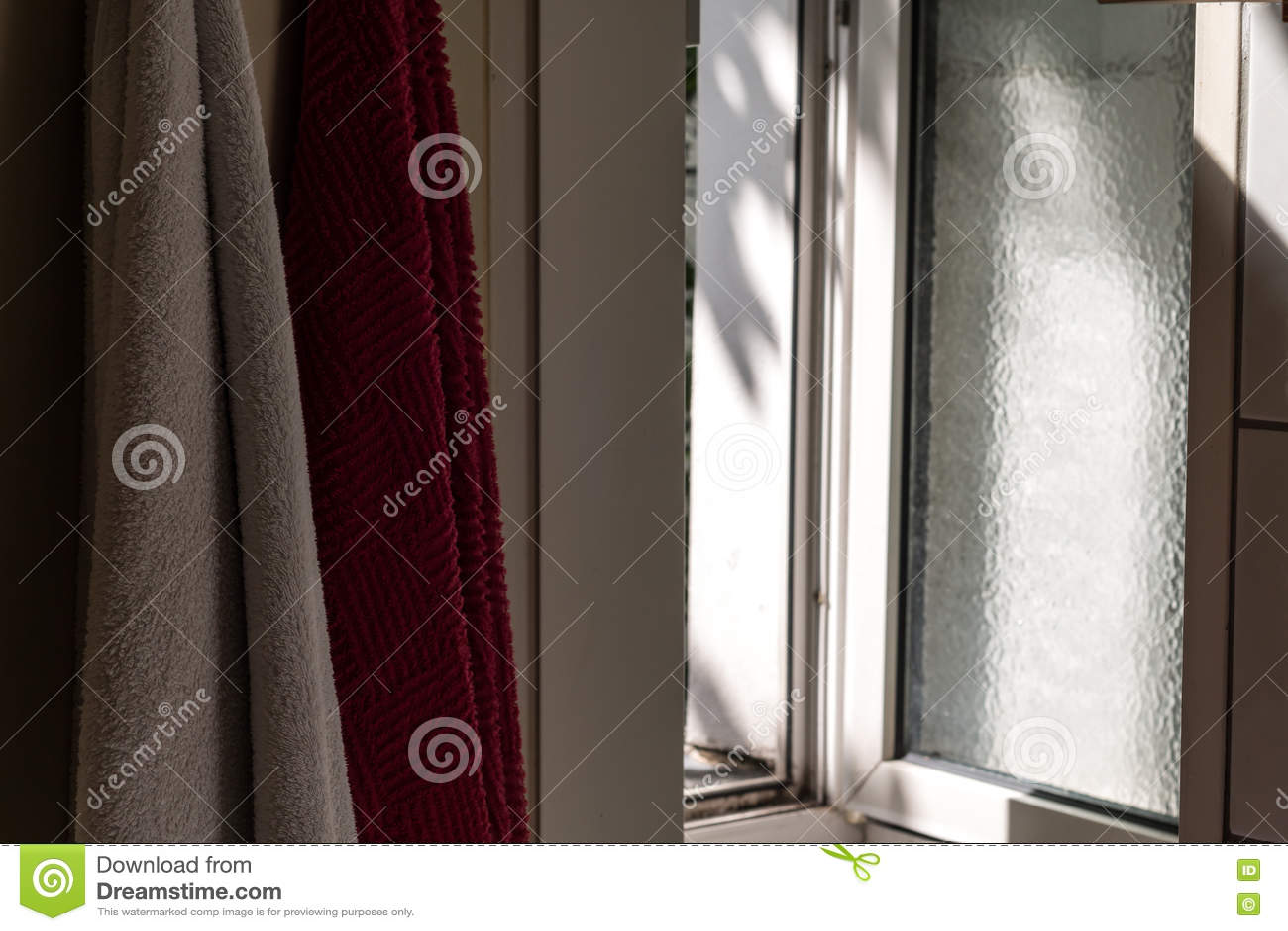 Lichte komst door een venster