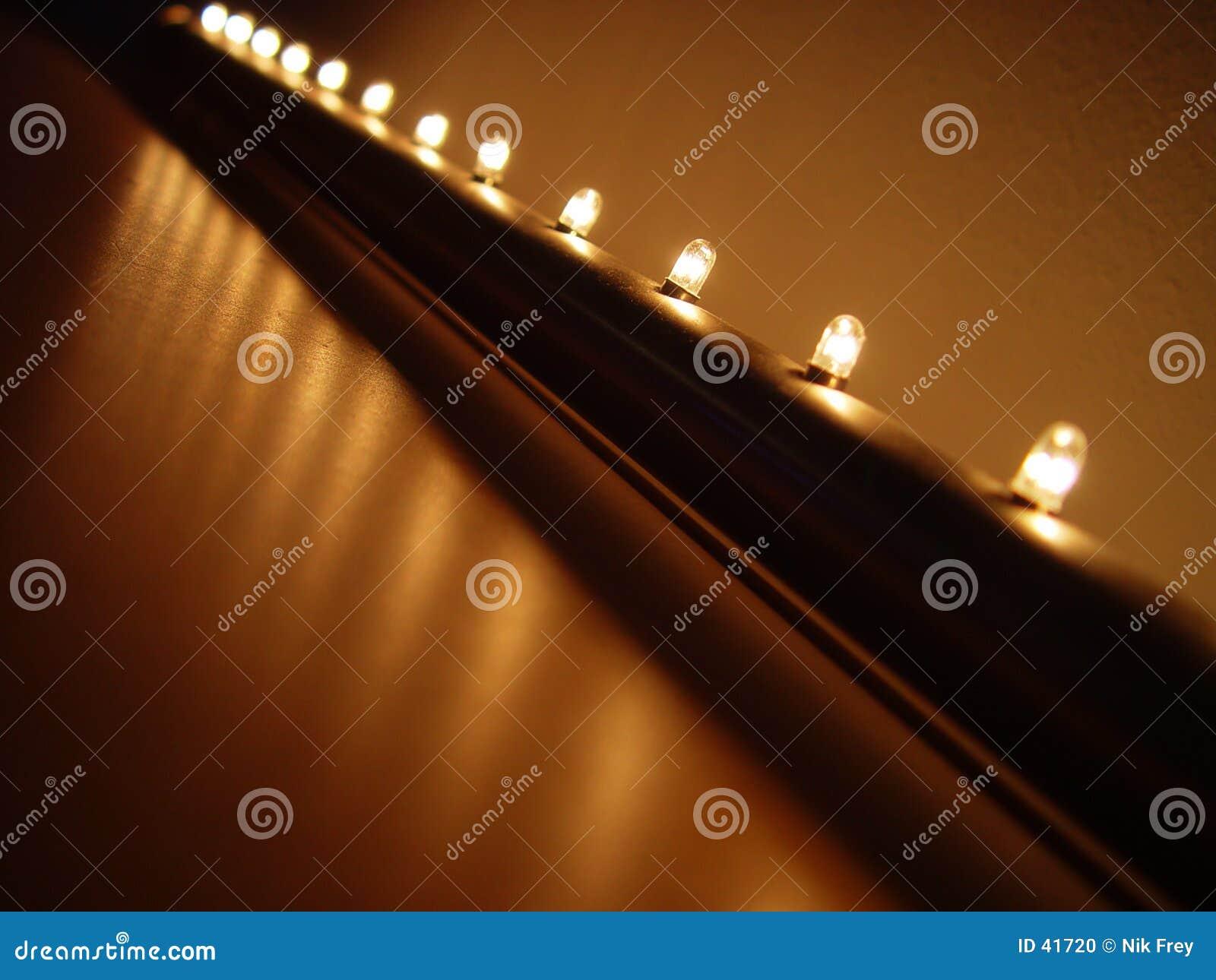 Lichte rij