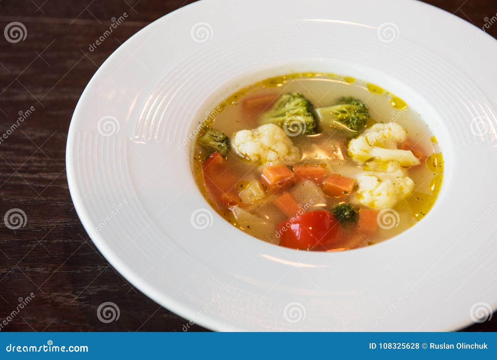 lichte vegetarische soep