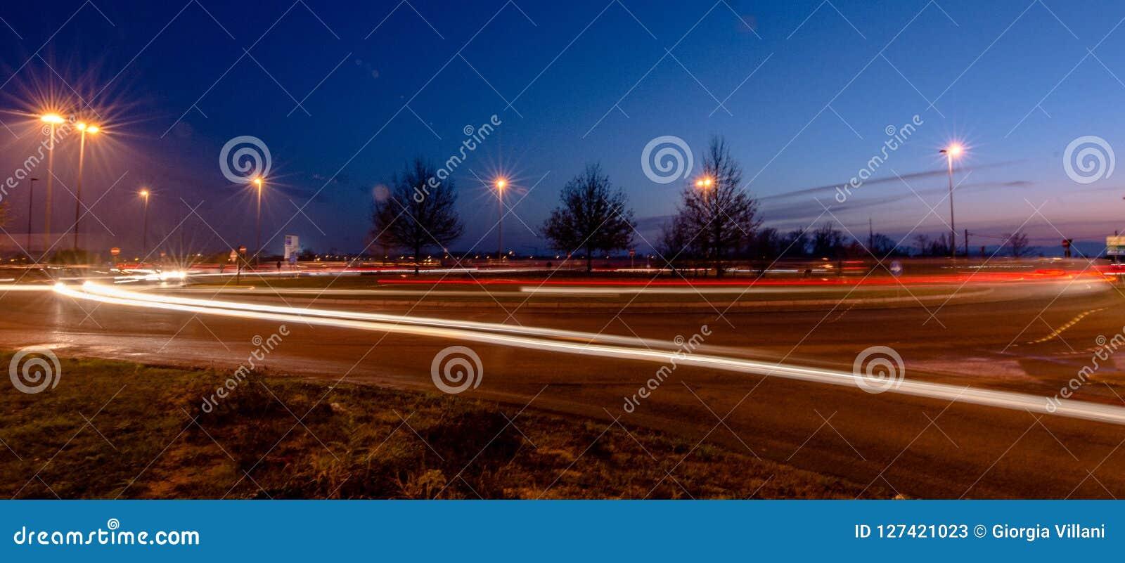 Lichten in de stad