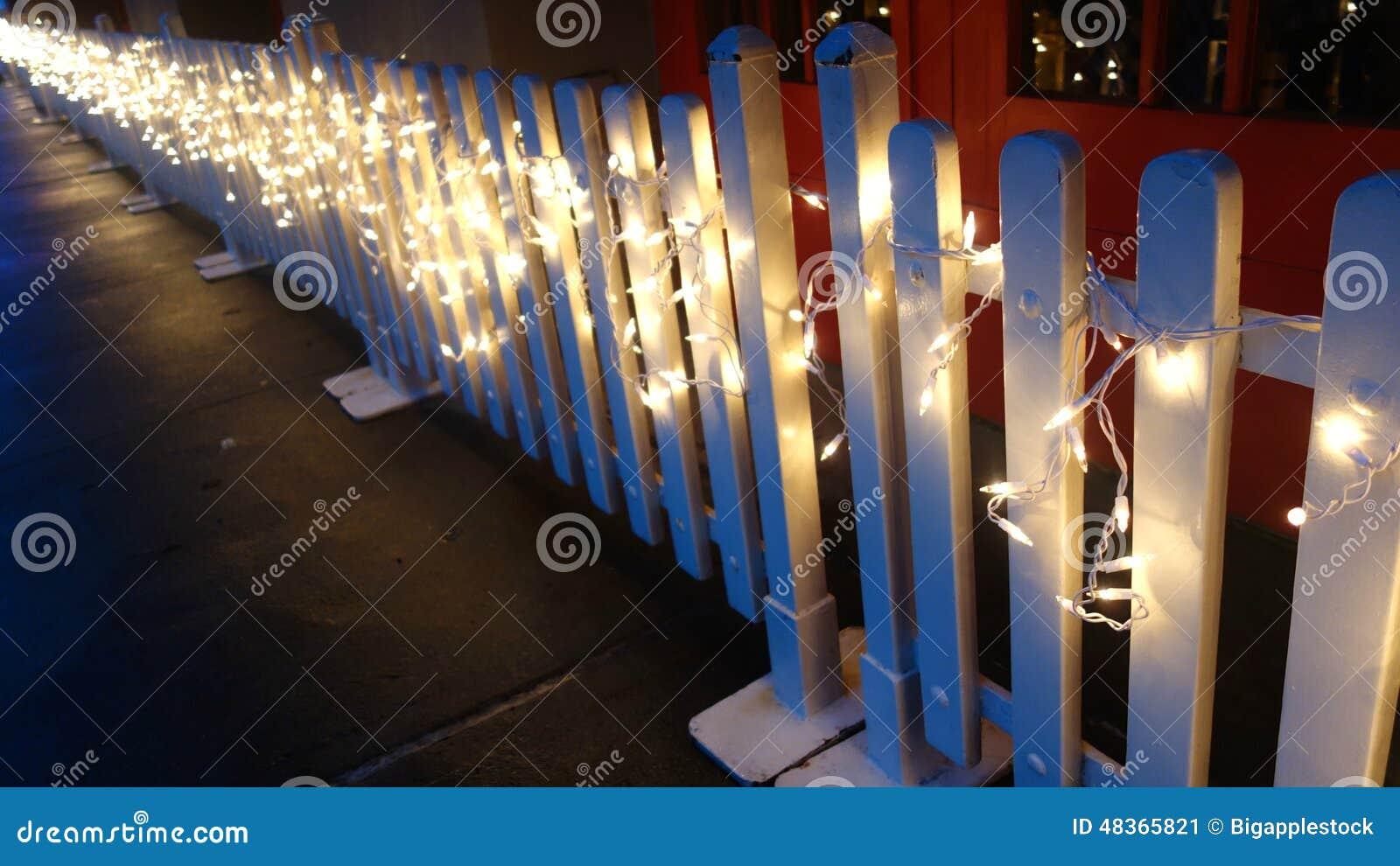 Lichten op Omheining