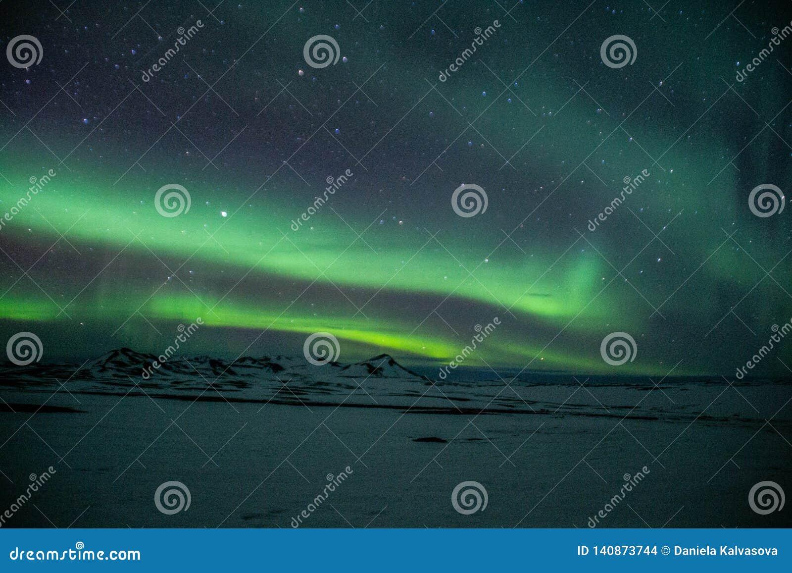 Lichter Aurora Borealiss /Northern über Island