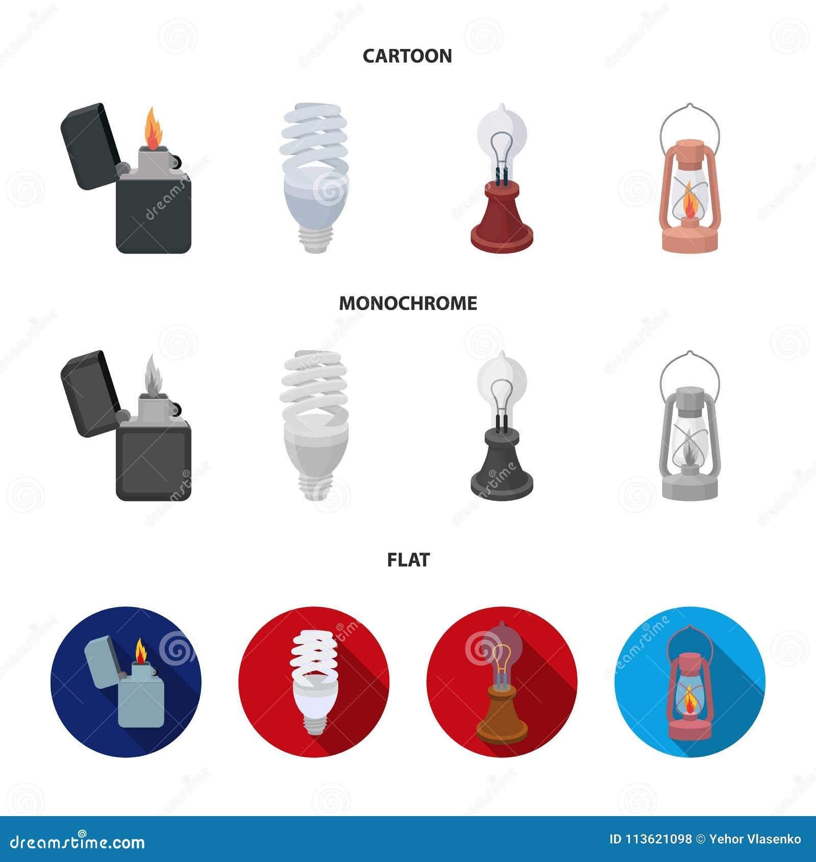 Lichtere Economische Gloeilamp De Lamp Van Edison
