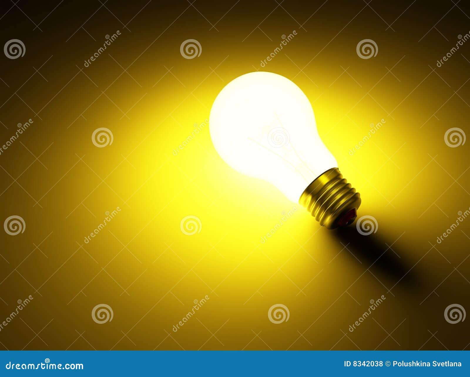 Lichtgevende lamp royalty vrije stock foto s afbeelding