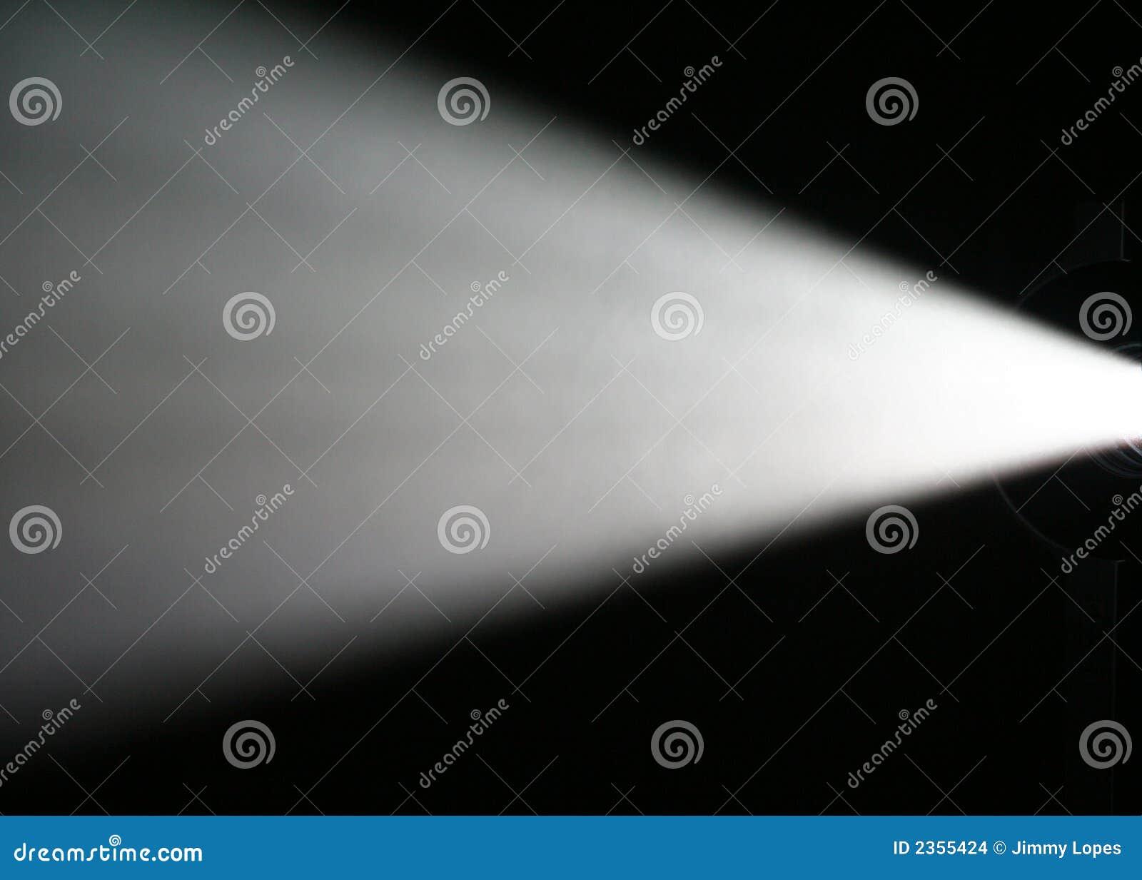 Lichtstraal van Projector