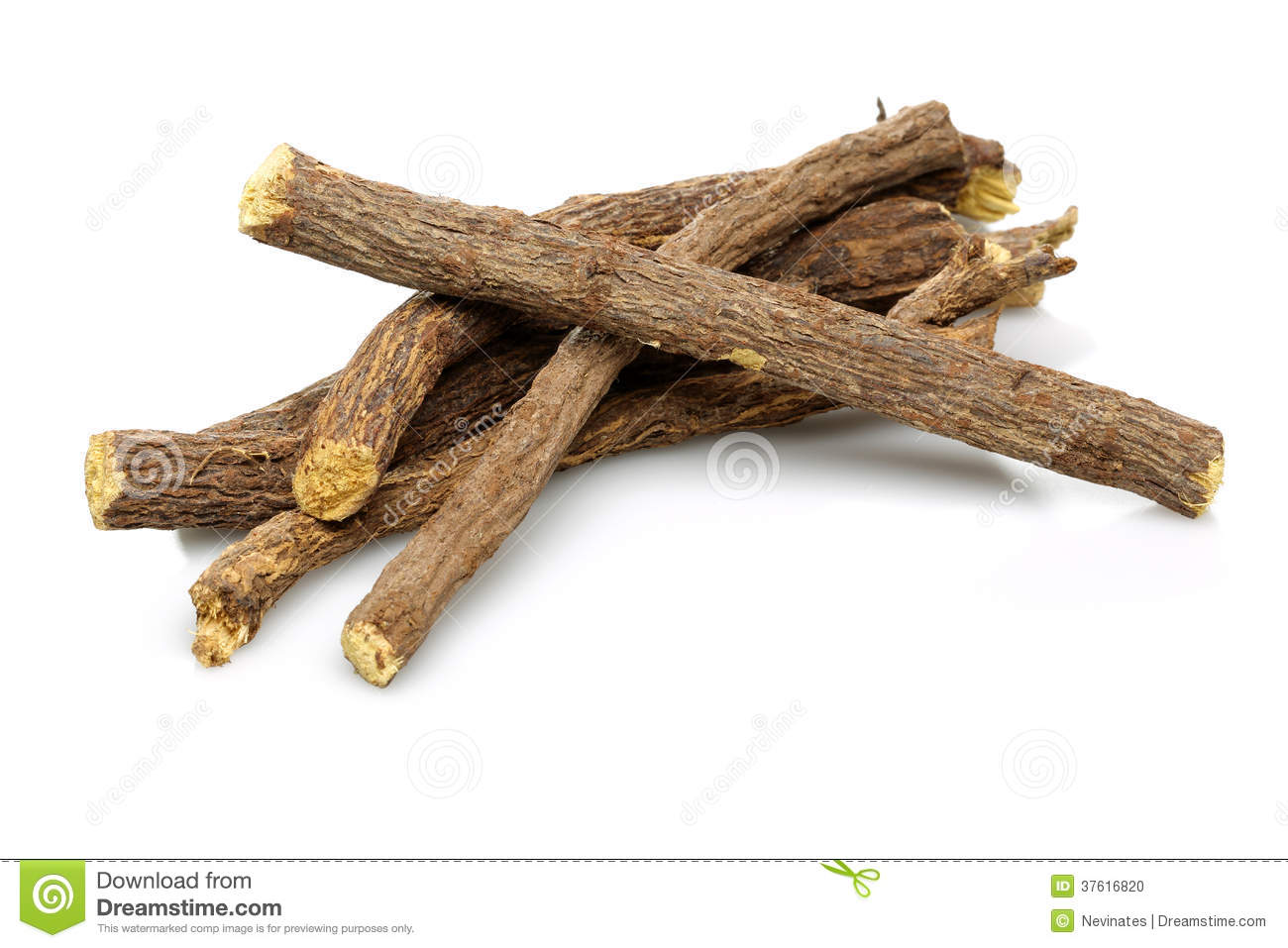 Licorice root sticks