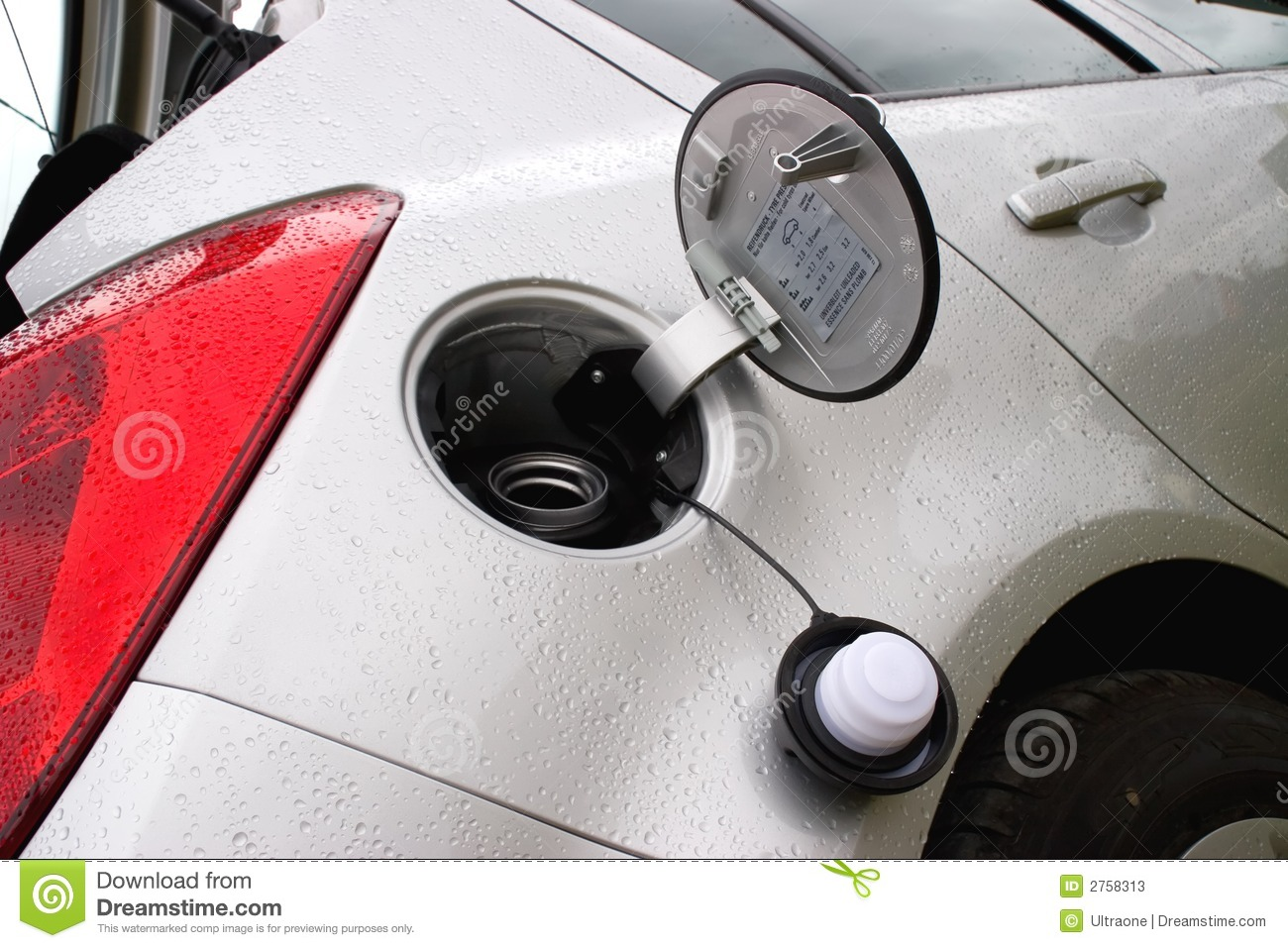 Lid Of Cars Fuel Tank Stock Photos - Image: 2758313