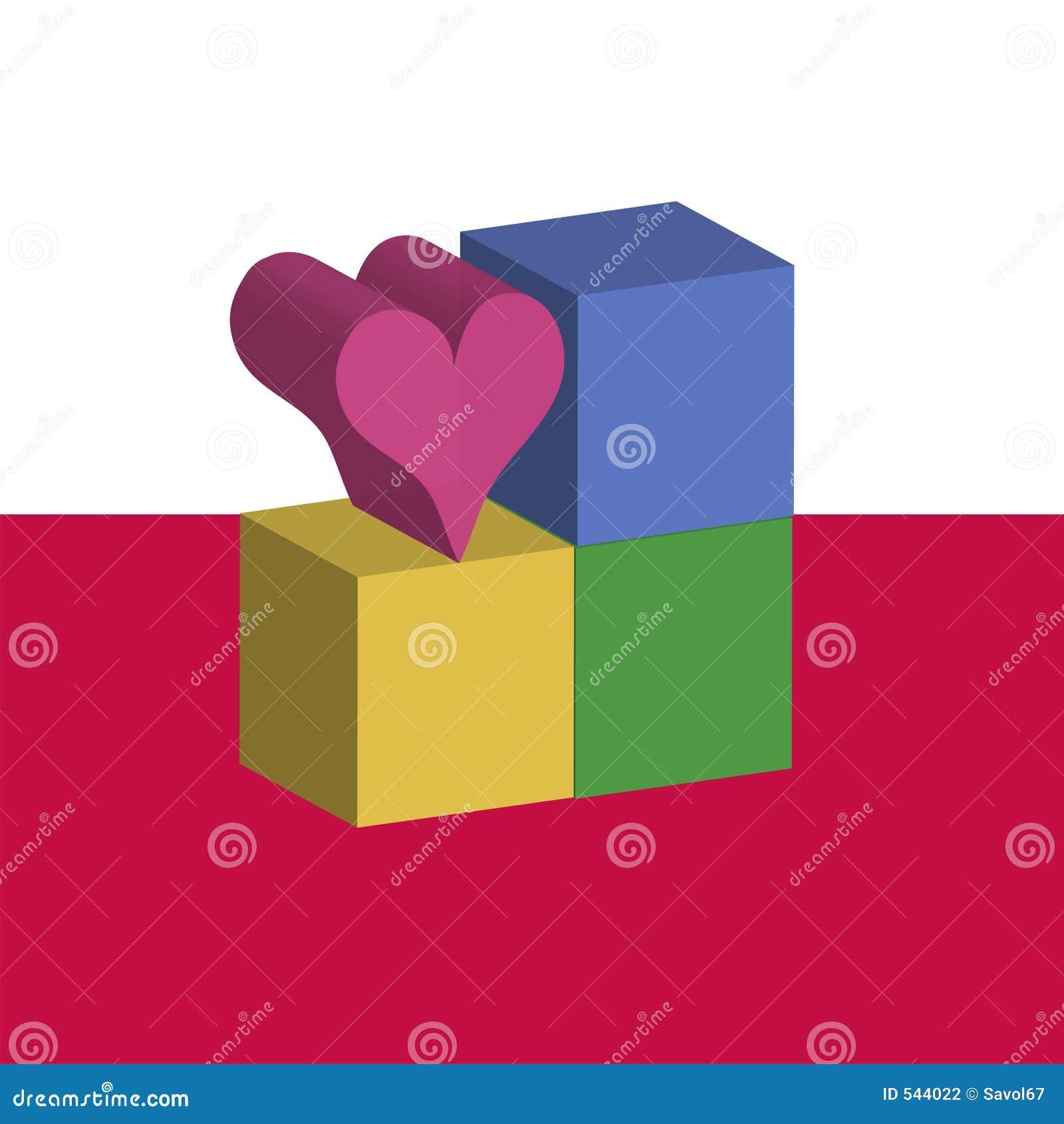 Liebe blockt Vorlage