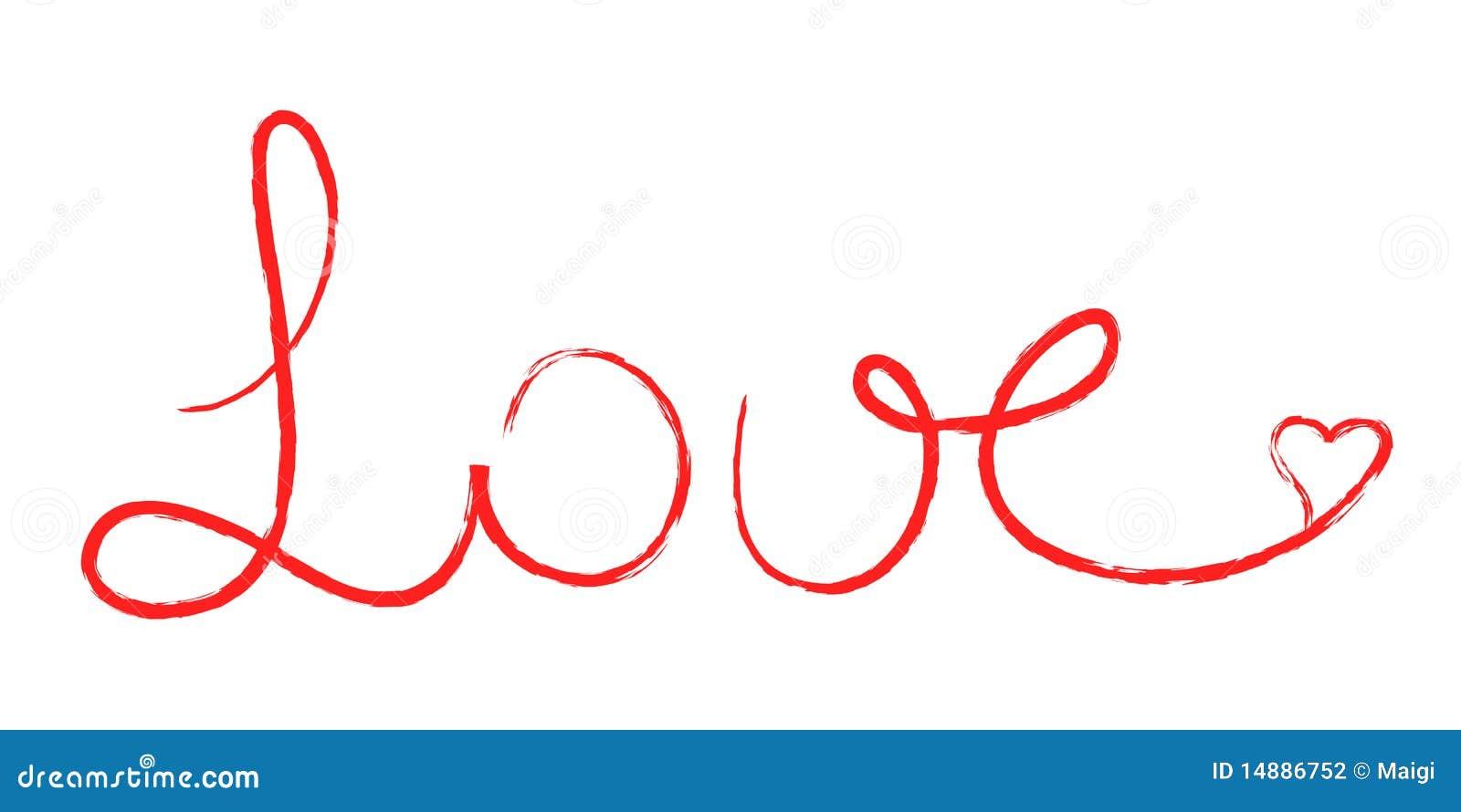 Bubble Letters Love You