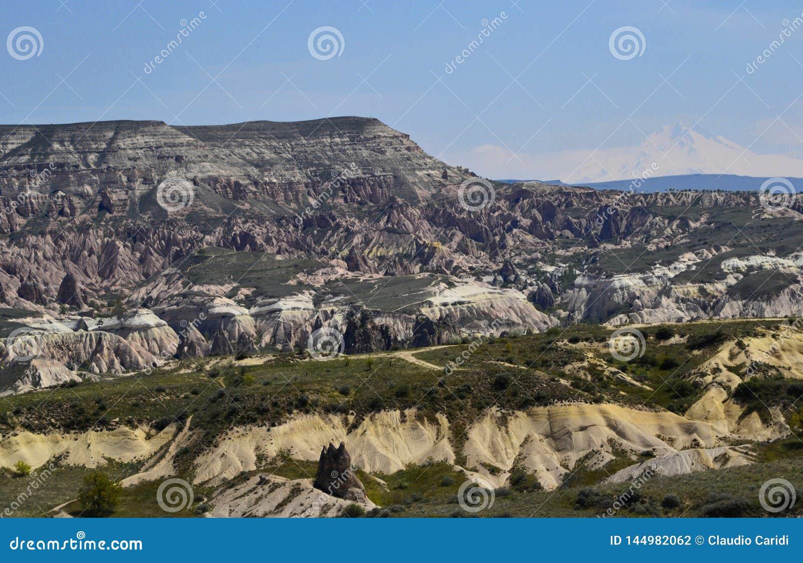 Lieben Sie Tal in Cappadocia, Goreme, die T?rkei