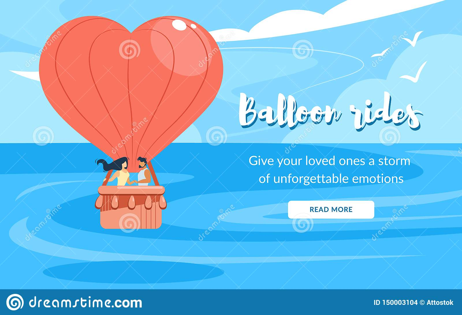 Liebend verbinden Sie im Korb, reitet Luft-Ballon-Fliegen