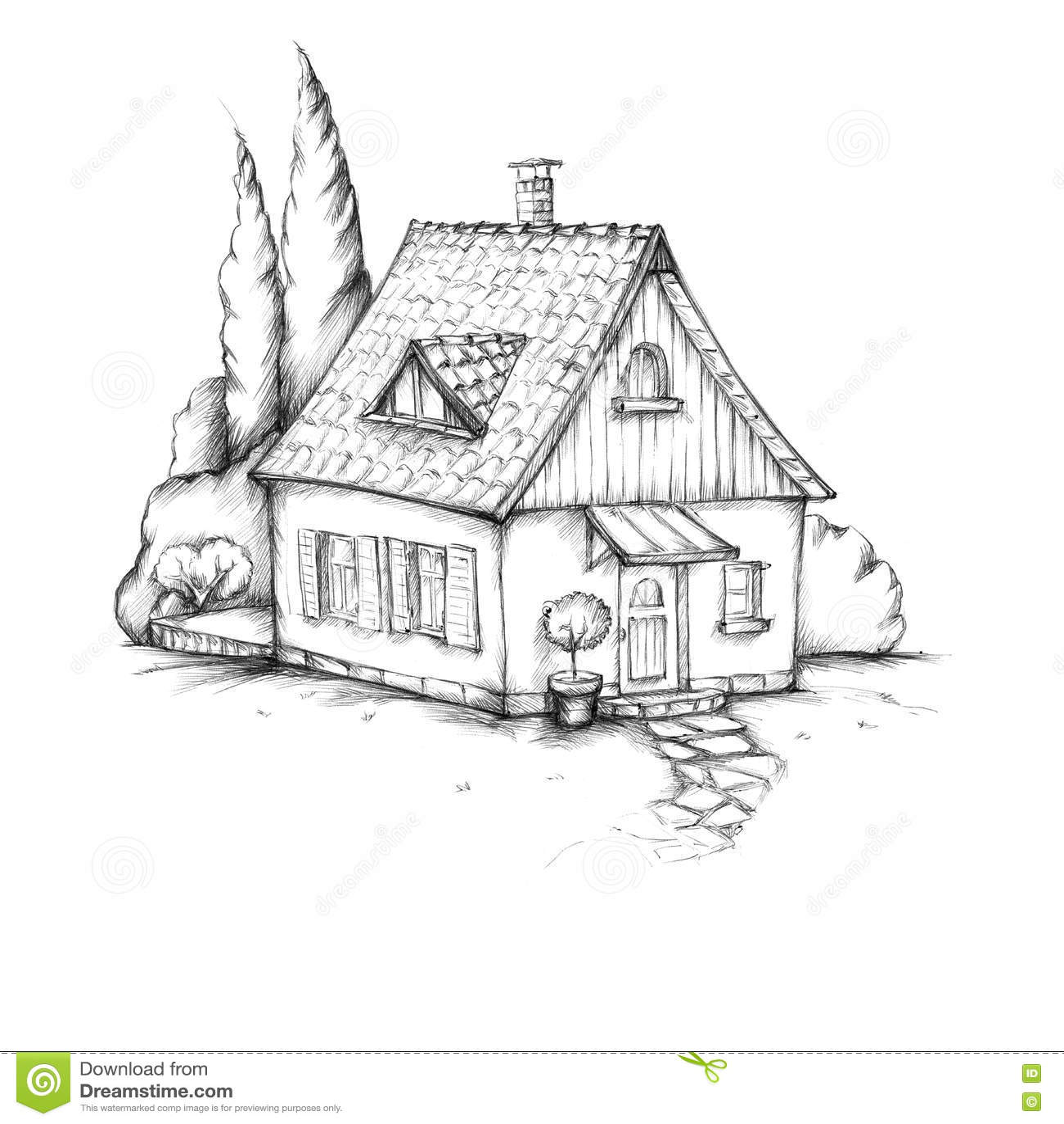 Liebevoll entworfenes Haus