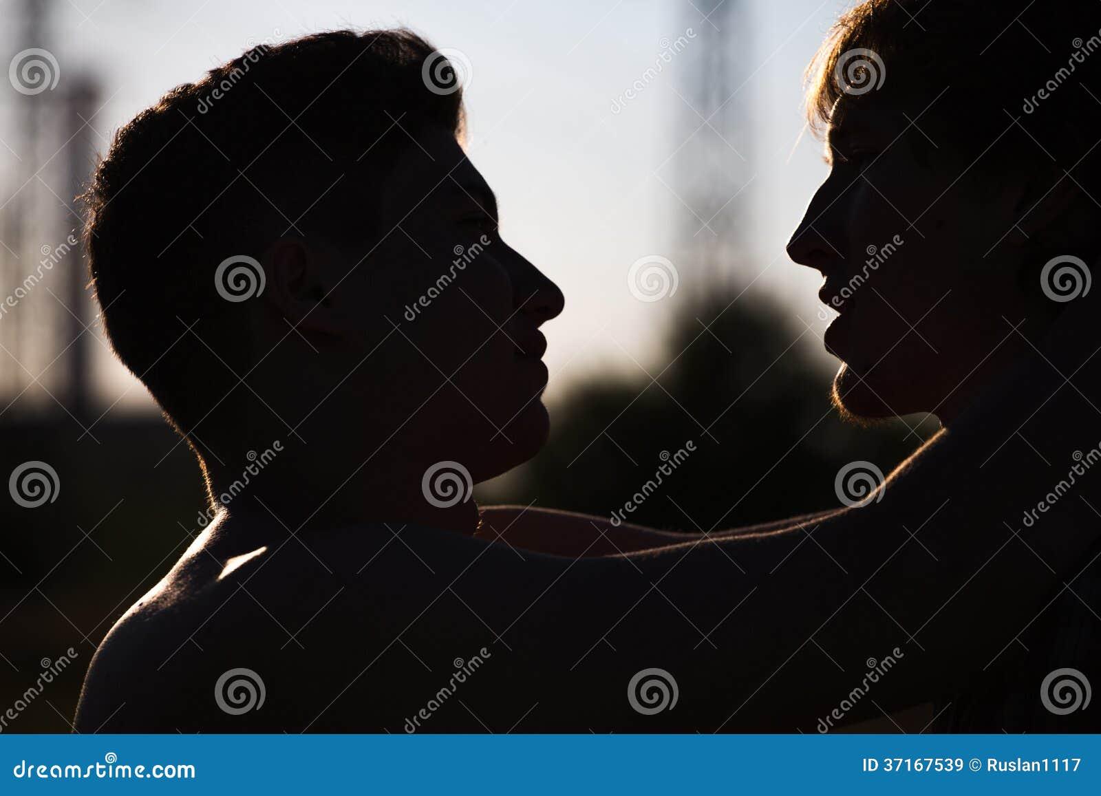 Liebevolle homosexuelle Paare