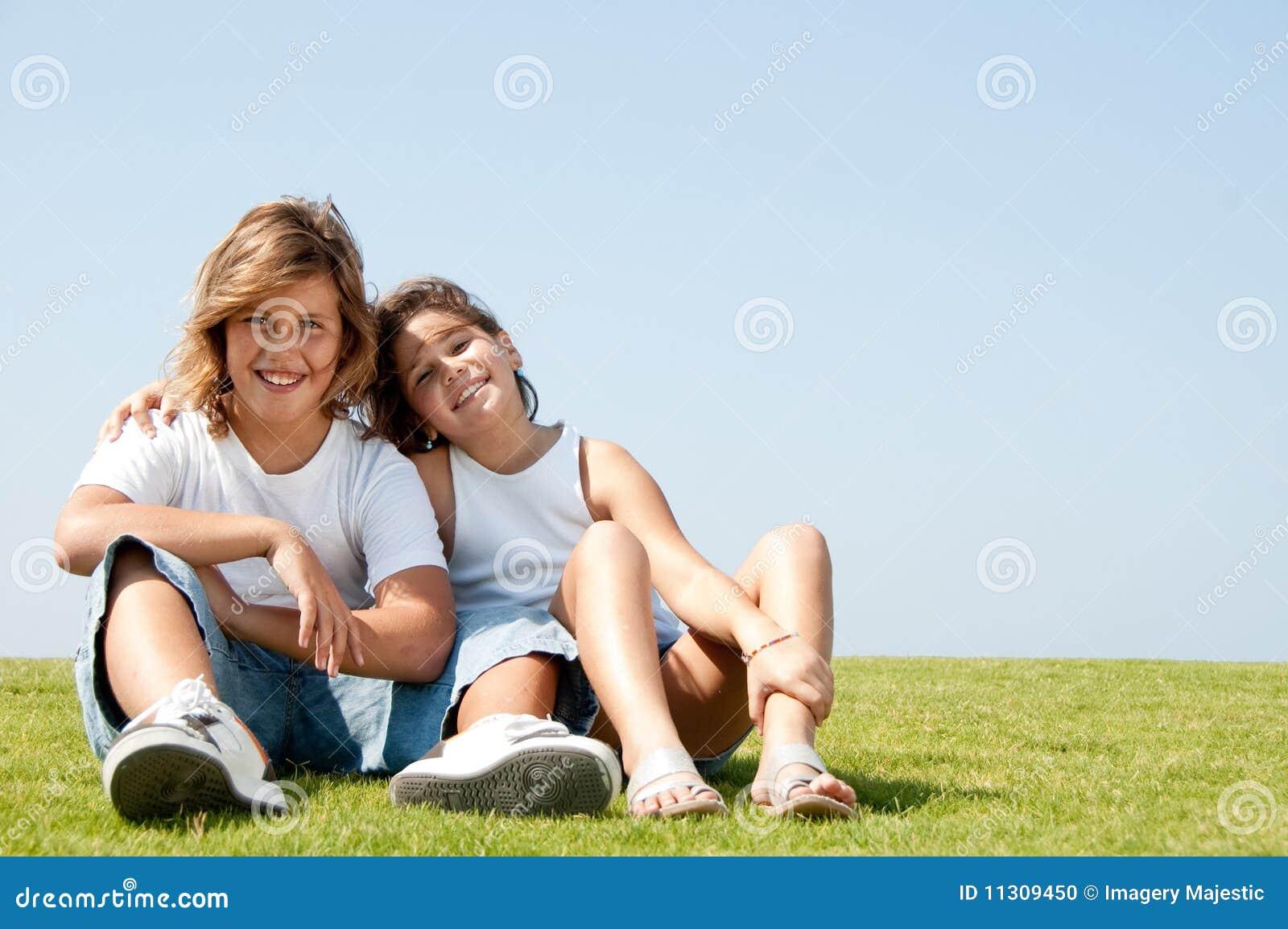 Liebevolle Kinder