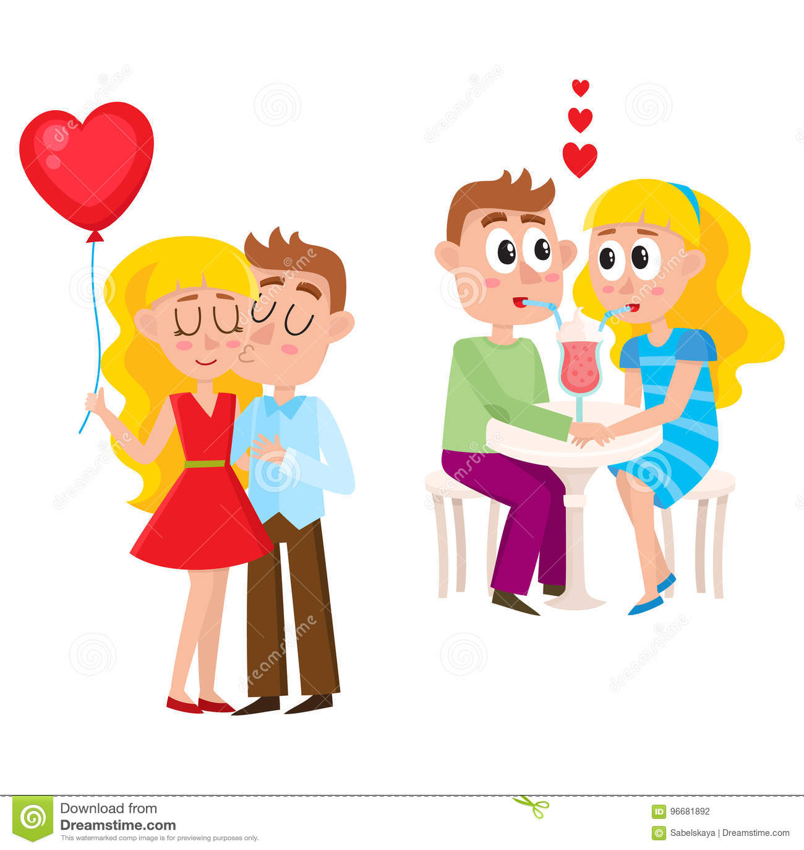 Was machen Paare während der Datierung?