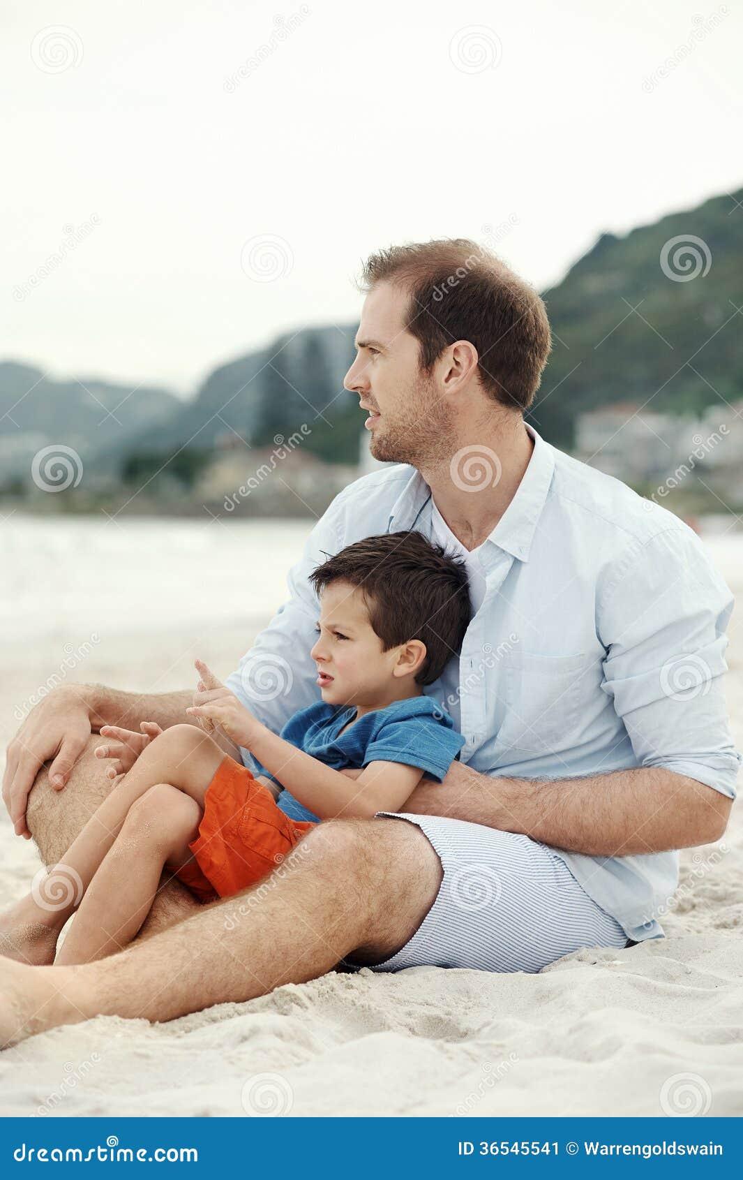 Liebevoller Vater