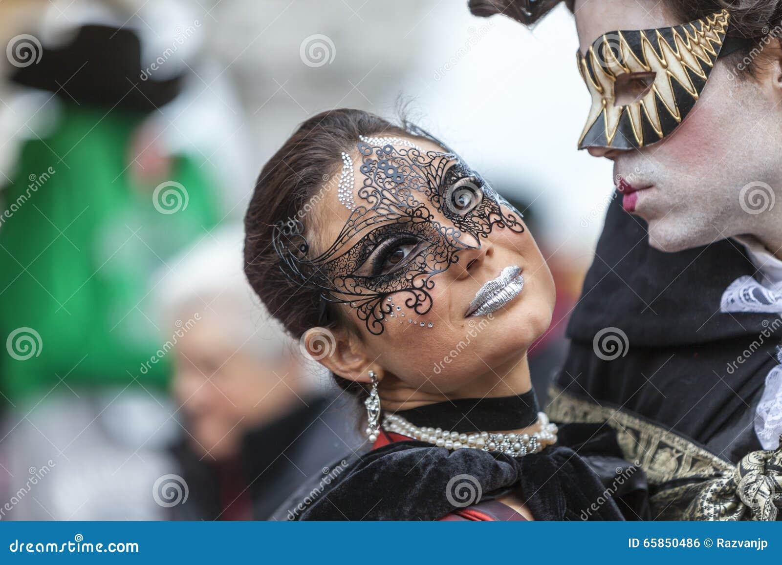Liebhaber in Venedig - Venedig-Karneval 2014