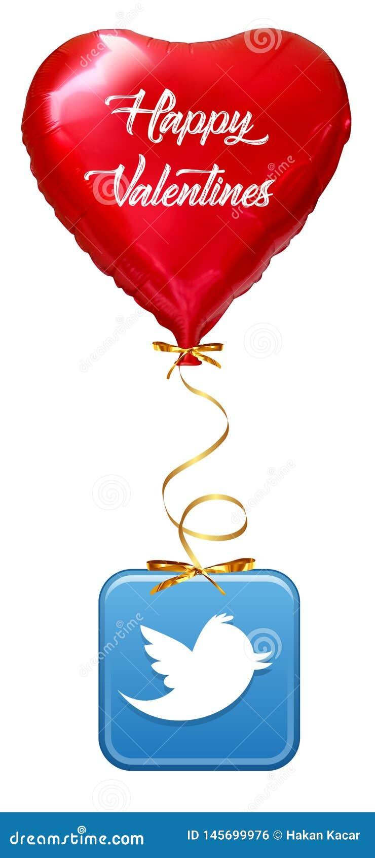 Liefde Baloon op wit, Impulshart wordt ge?soleerd dat: het rode concept van de valentijnskaartliefde, Valentijnskaartendag ısola