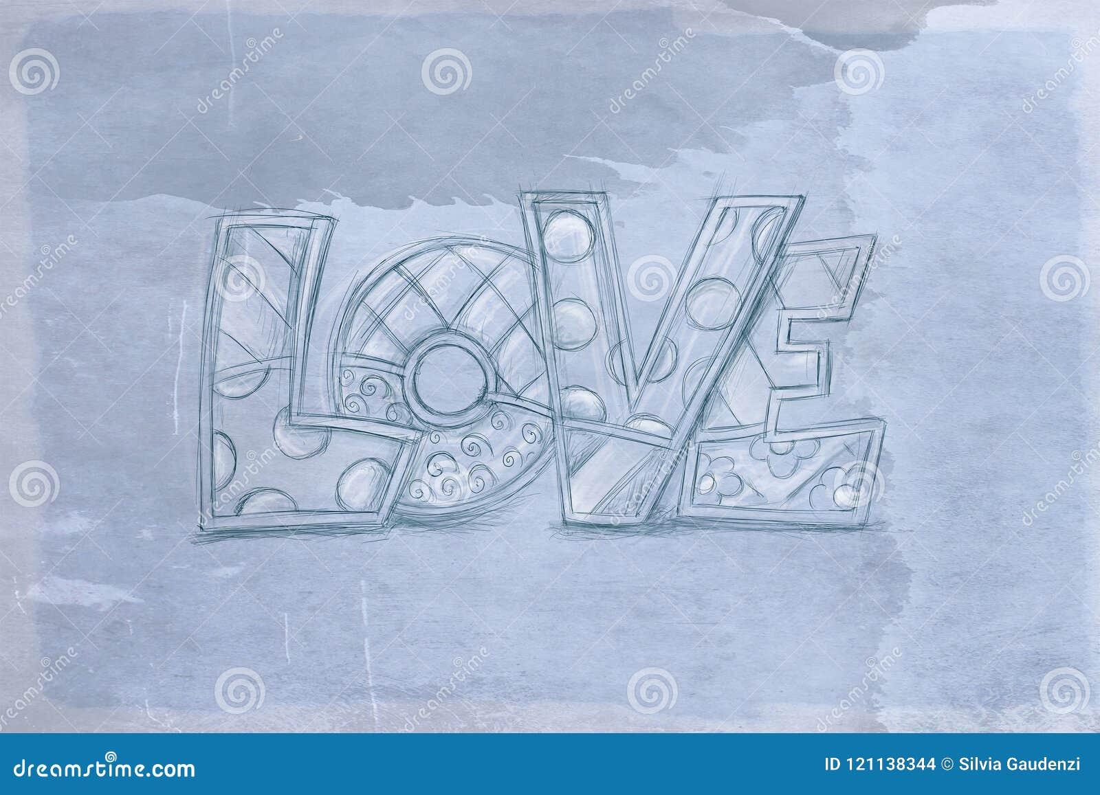 Liefde met antieke basis