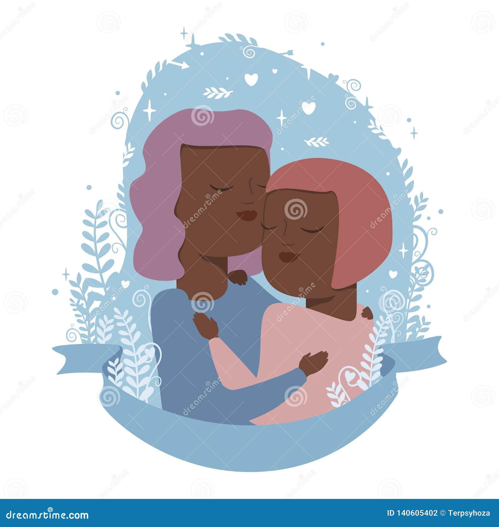 Liefdepaar in omhelzingen