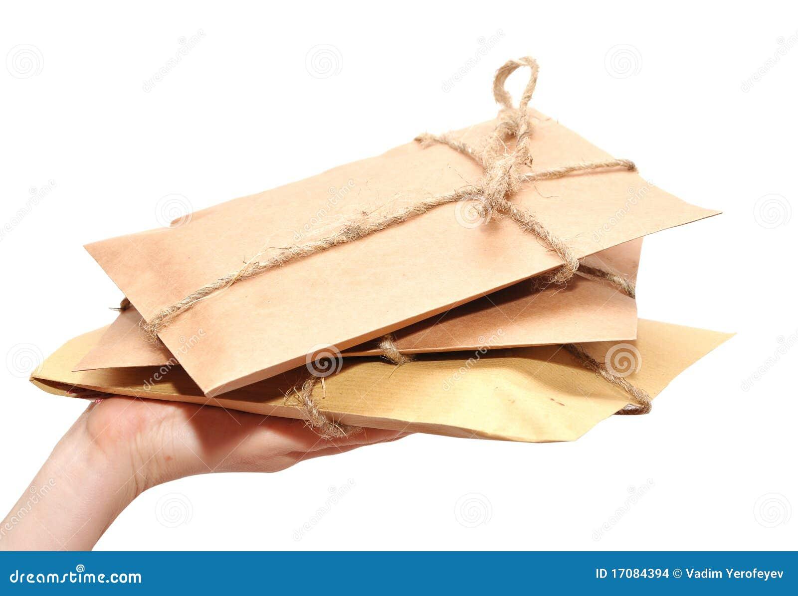 Liefern eines Paketes
