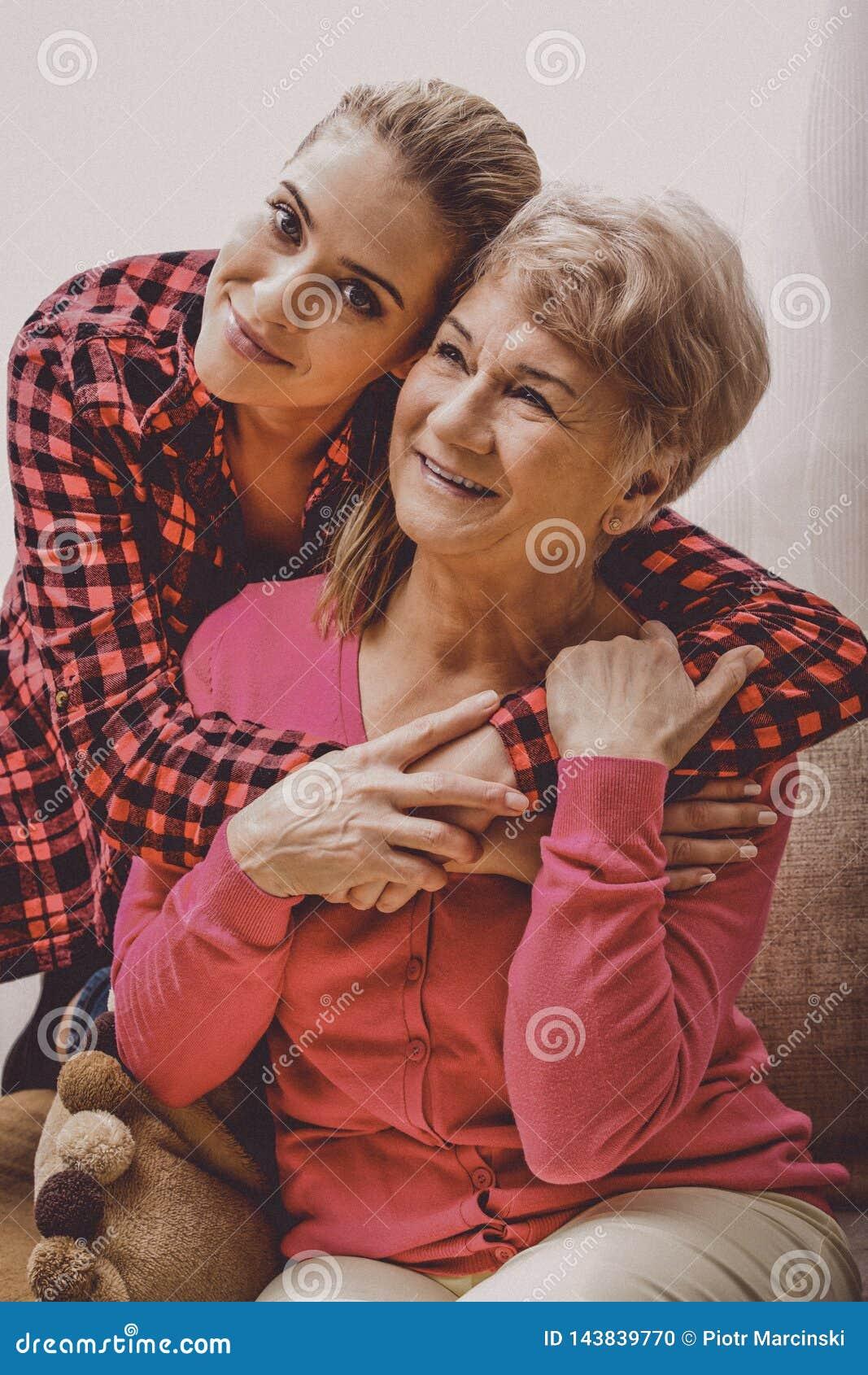 Liens de famille, grand-mère