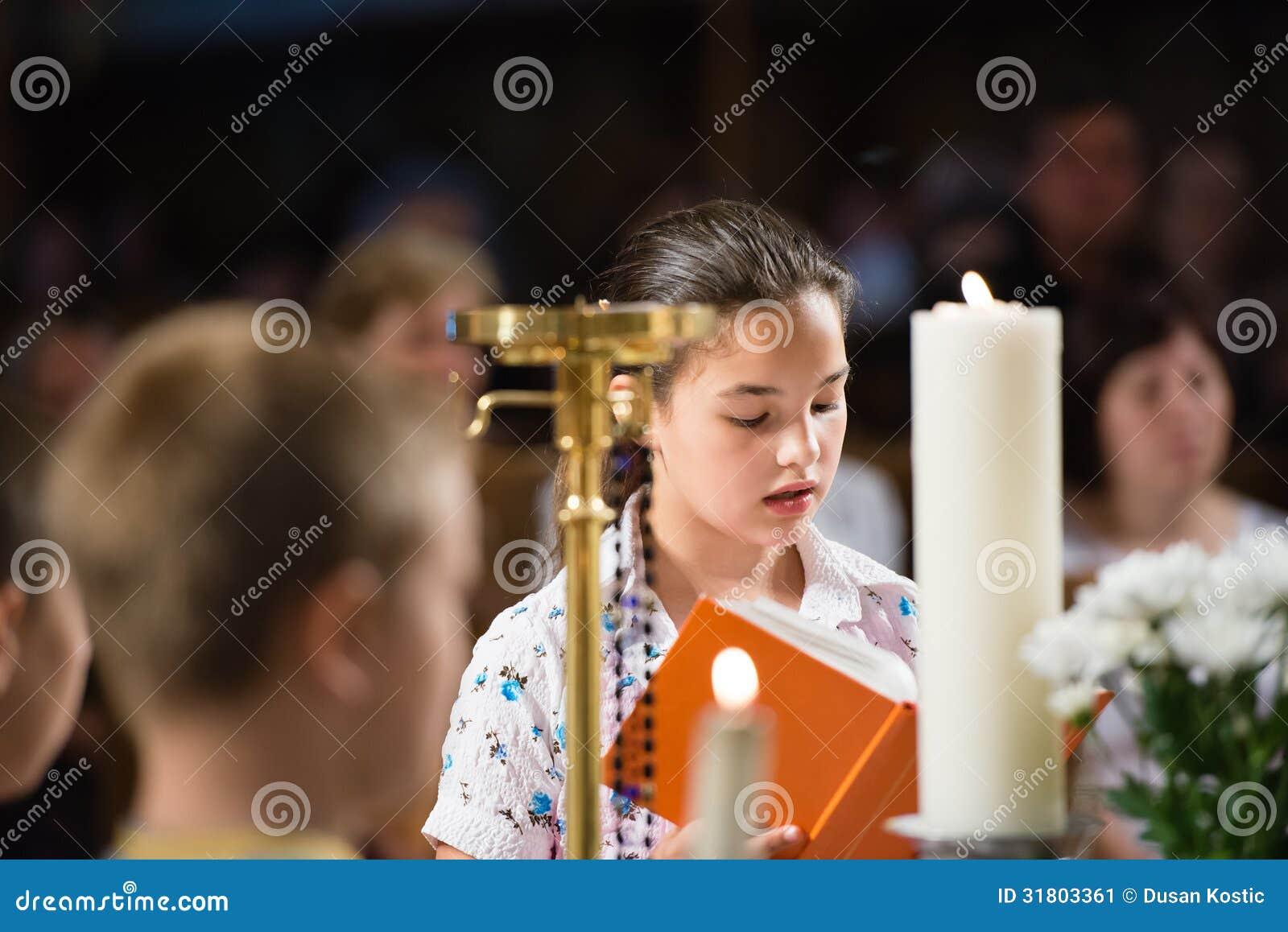 Liest das Gebet